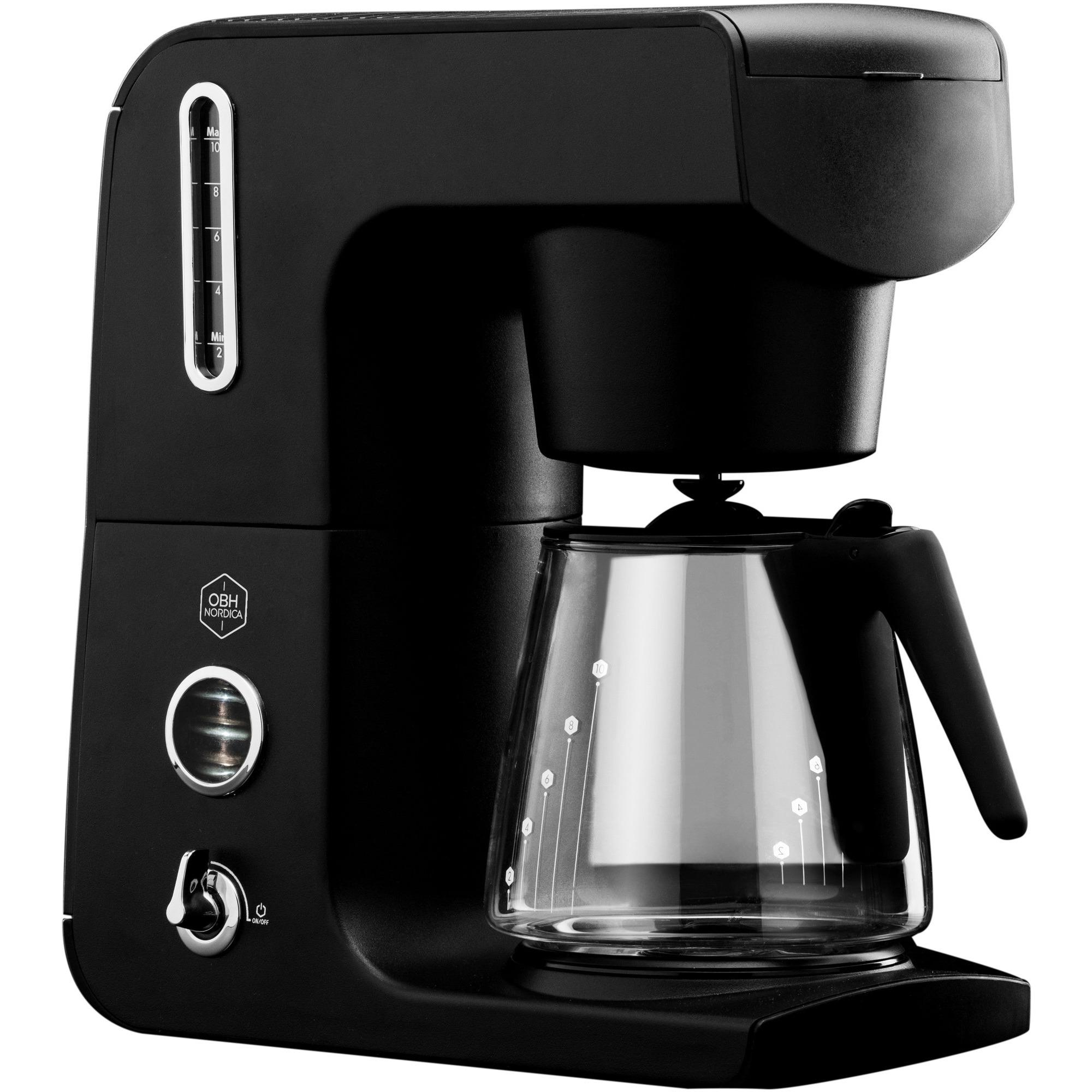 OBH LEGACY Kaffemaskine sort