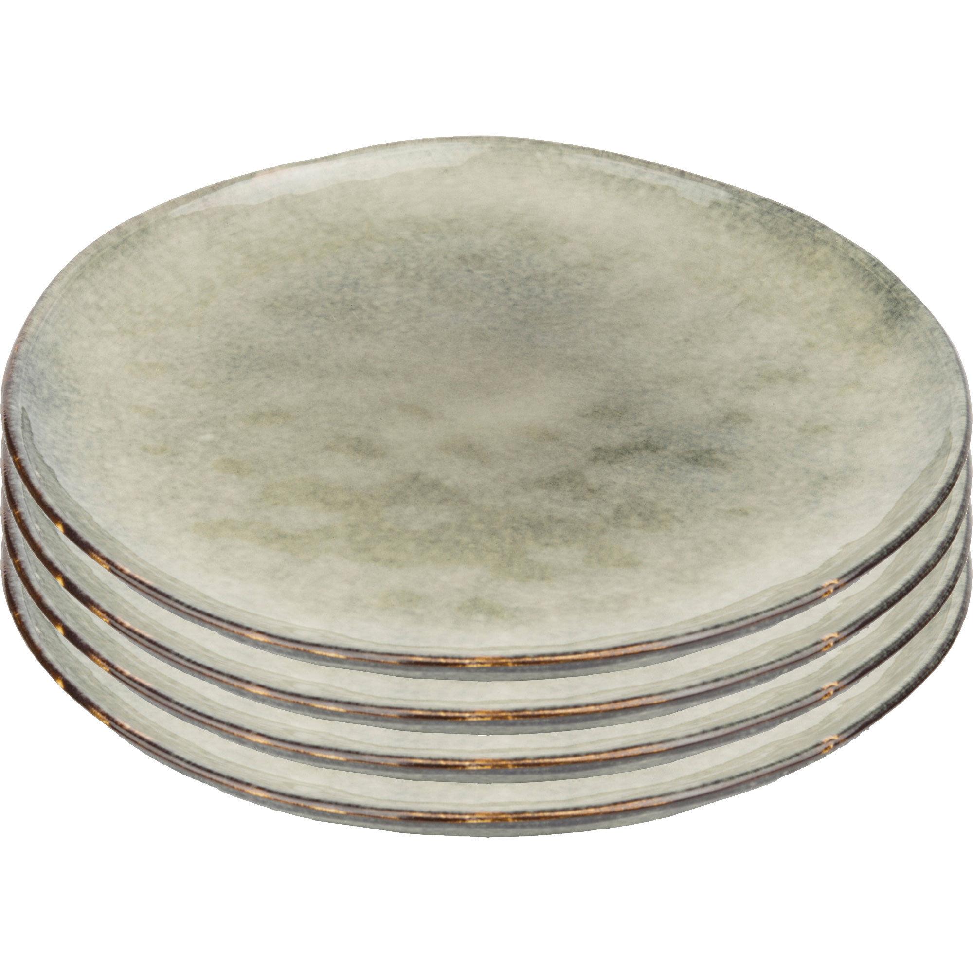 Mareld Odd tallrik 28 cm 4-pack – Saltvatten