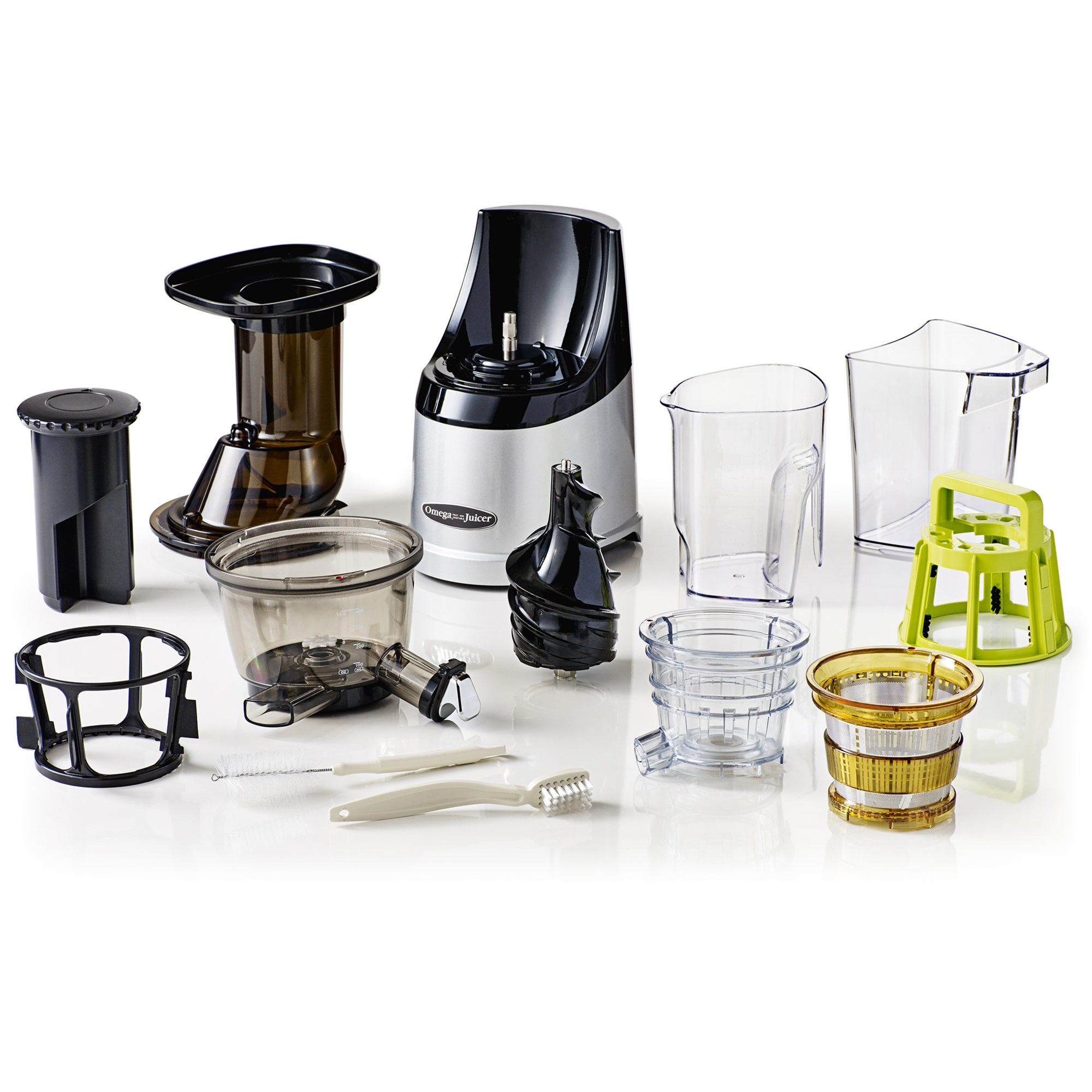 Omega Mega Mouth Whole Slow Juicer : MM702 MegaMouth Slow Juicer fra Omega Gratis Levering