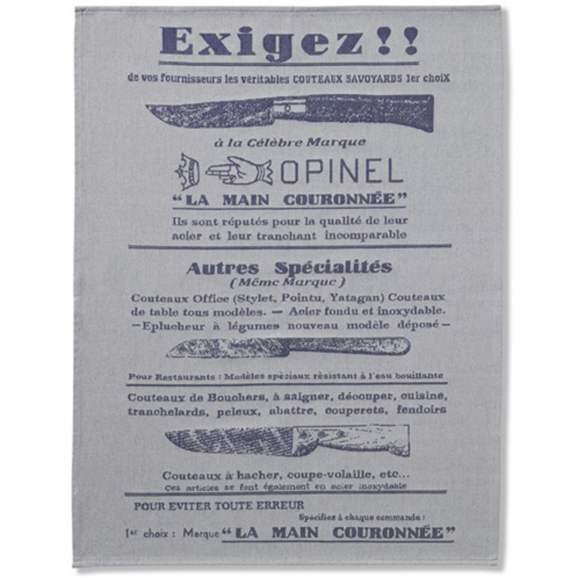 Opinel Kökshandduk Exigez.. 50x70cm