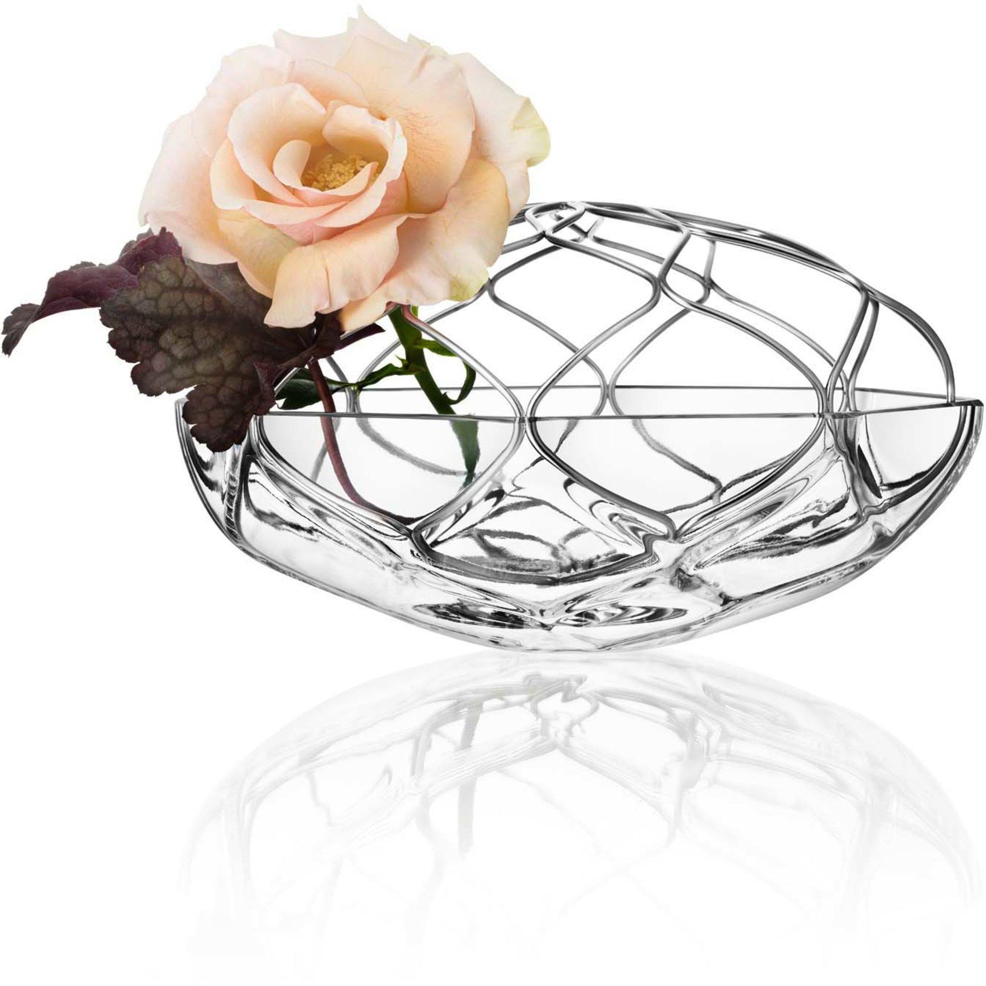 Orrefors Bloom Vas klar 21 cm