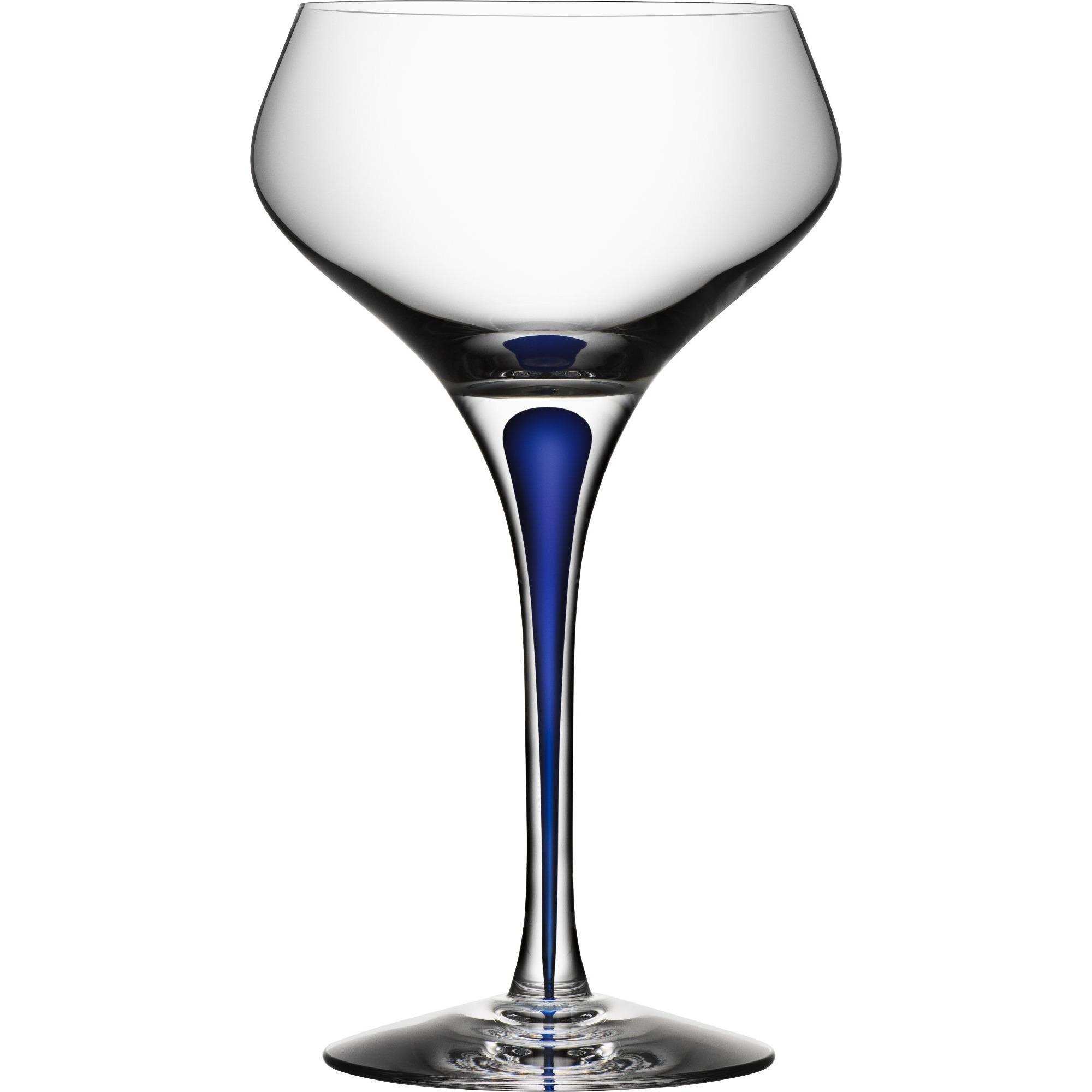 Orrefors Intermezzo Blå Champagne Coupe 29 cl