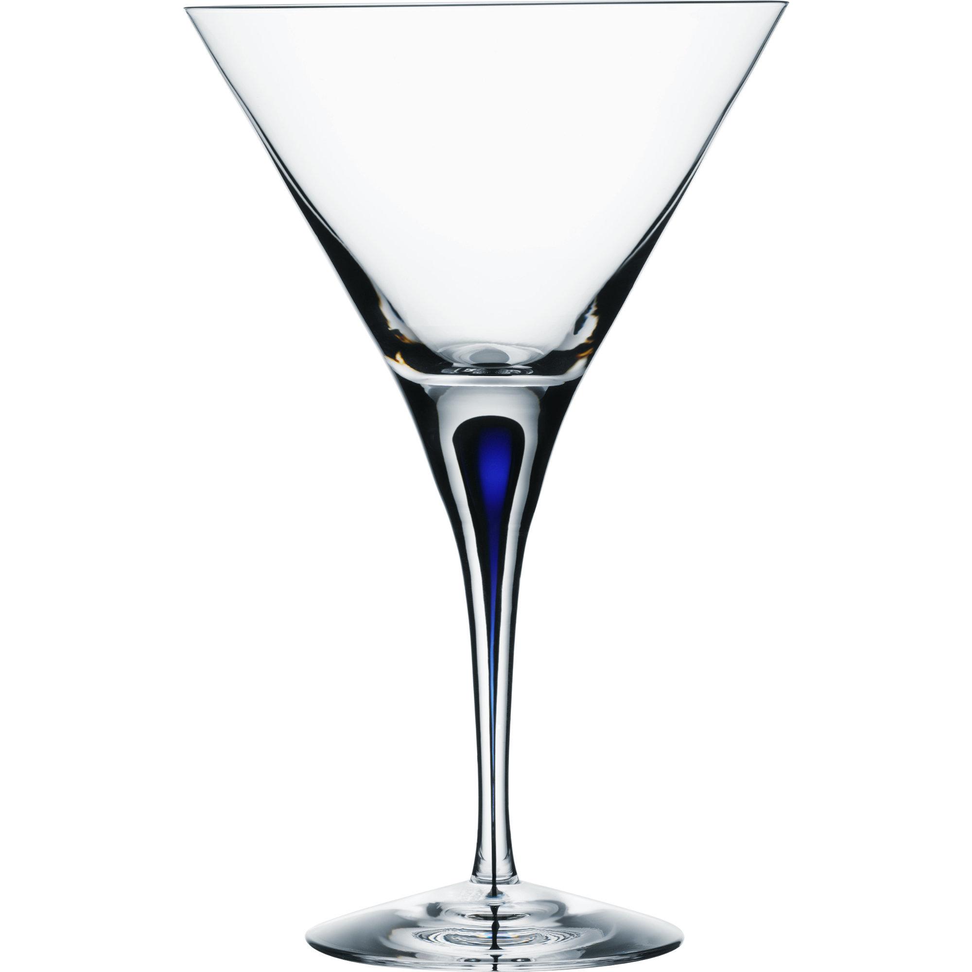 Orrefors Intermezzo Blå Martini 25 cl