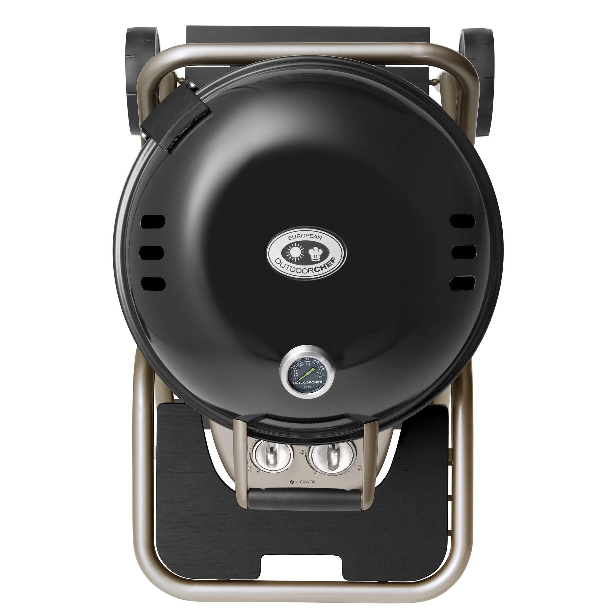 ascona 570 g gasgrill sort fra outdoorchef gratis levering. Black Bedroom Furniture Sets. Home Design Ideas