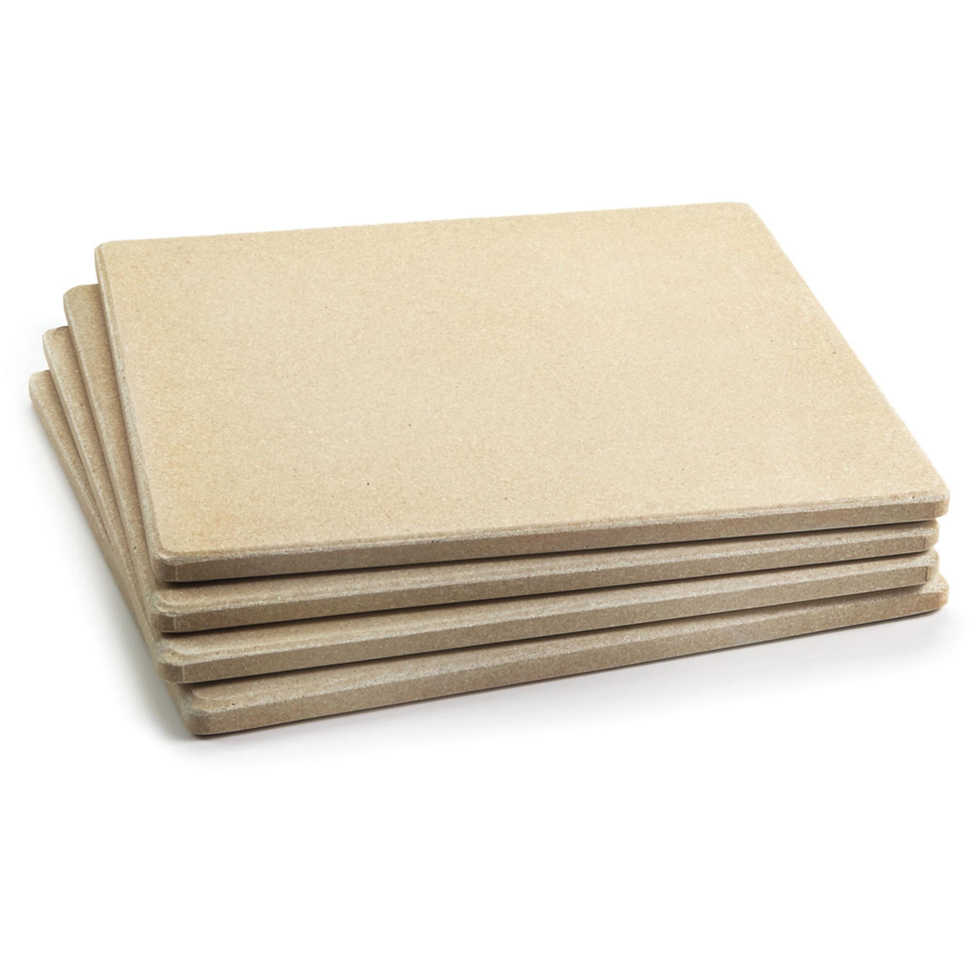 Outset Pizzastenar Keramiska 4 st 19×19 cm