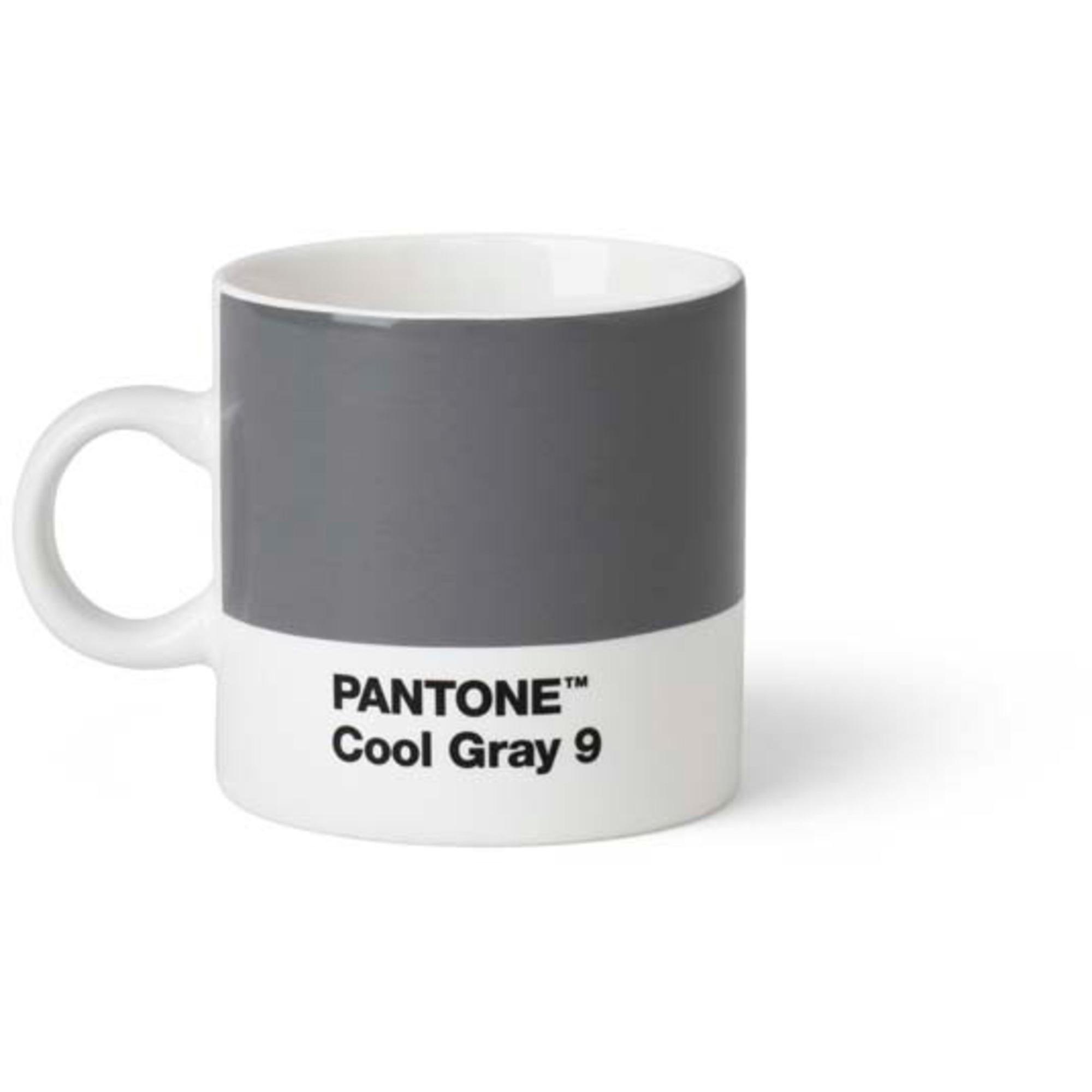 Pantone Living Espressokopp 12 cl Grå