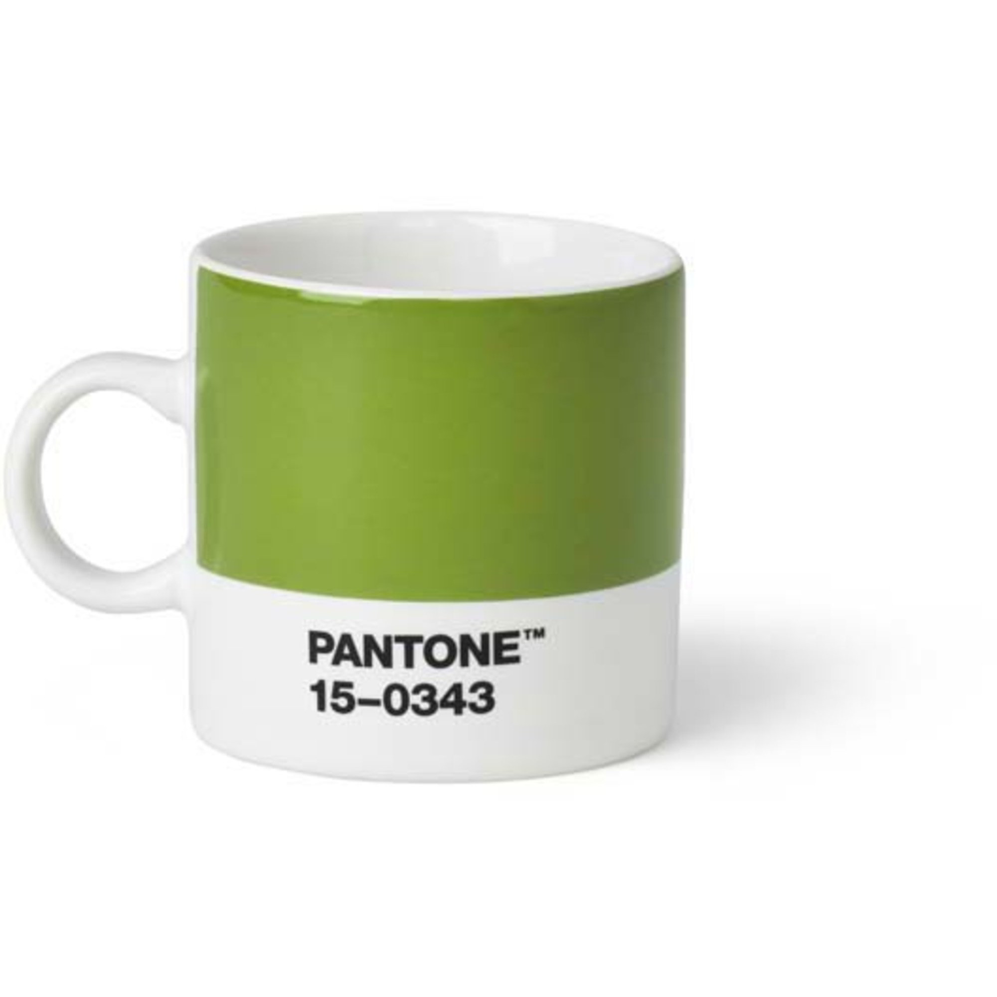 Pantone Living Espressokopp 12 cl Grön