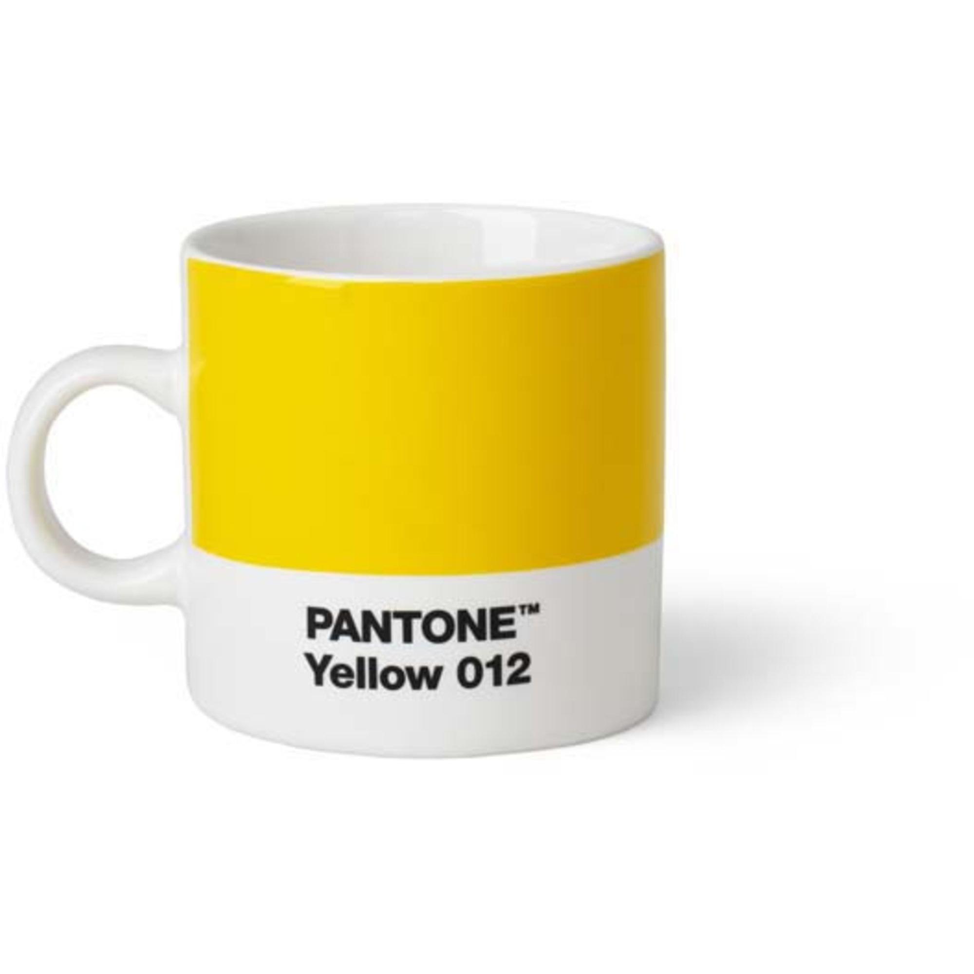 Pantone Living Espressokopp 12 cl Gul