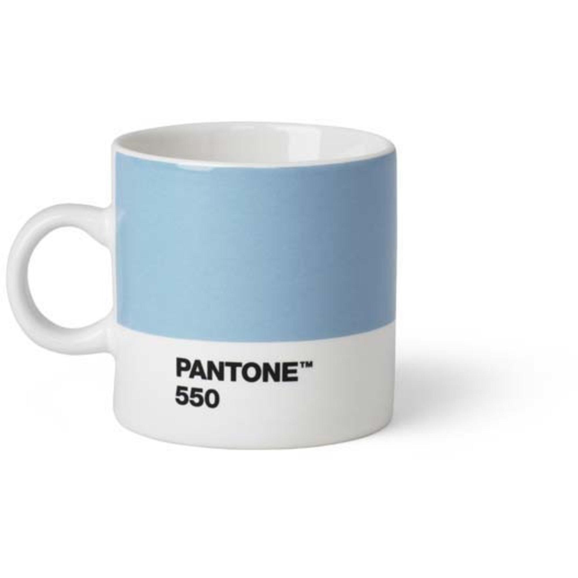 Pantone Living Espressokopp 12 cl Ljusblå