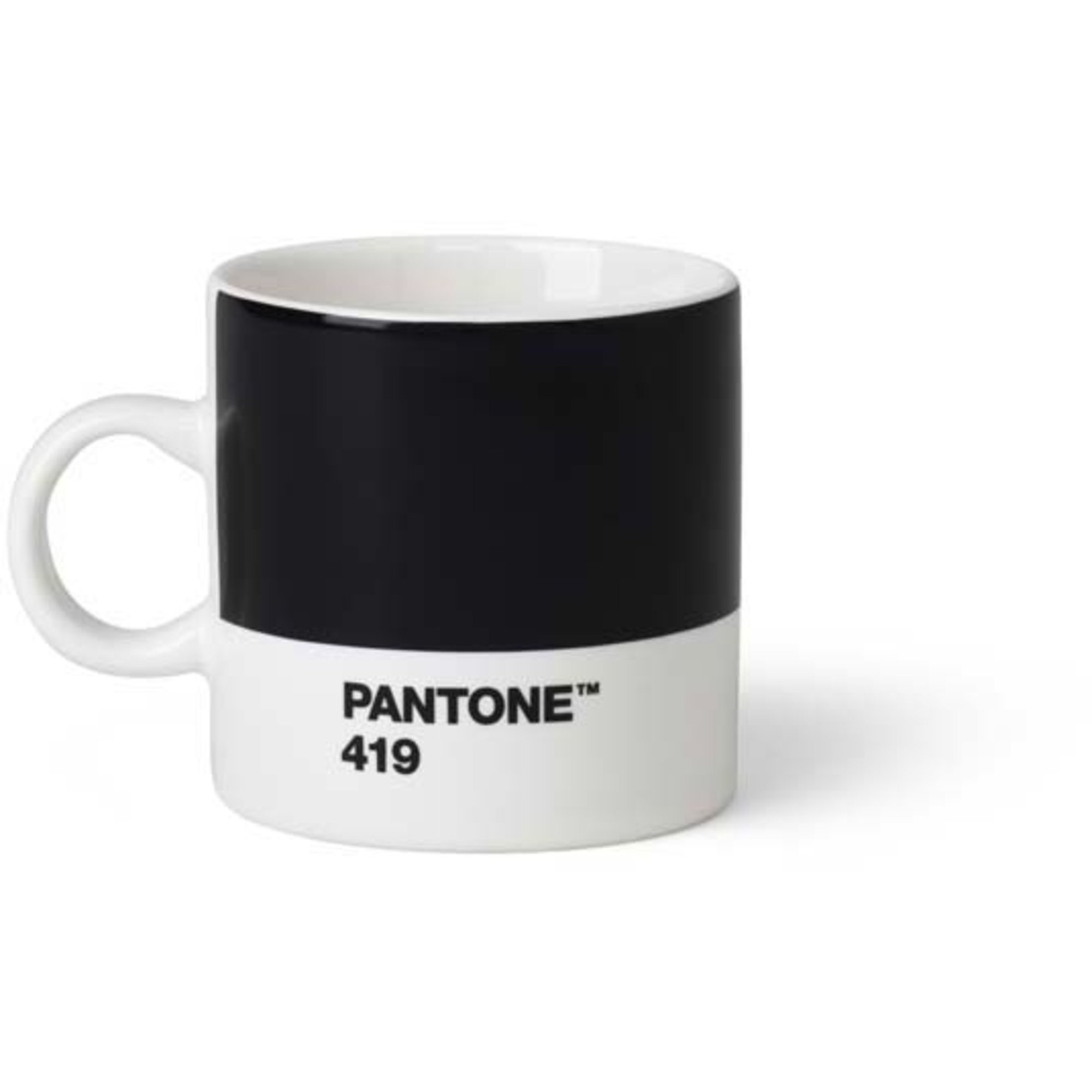 Pantone Living Espressokopp 12 cl Svart