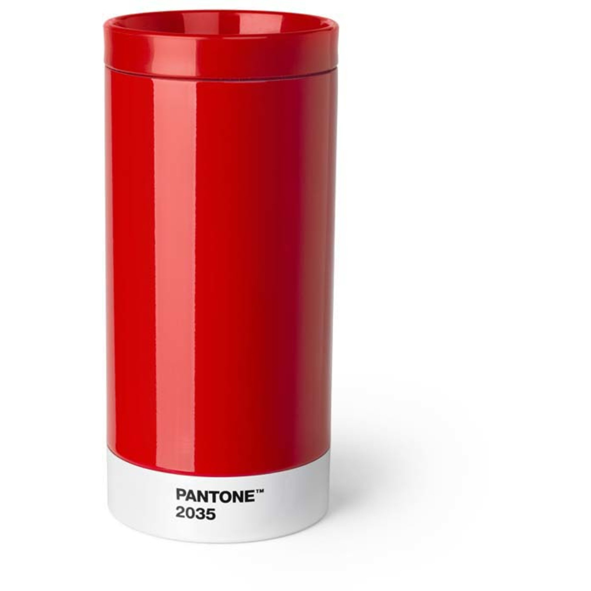 Pantone Living To go mug 43 cl Röd