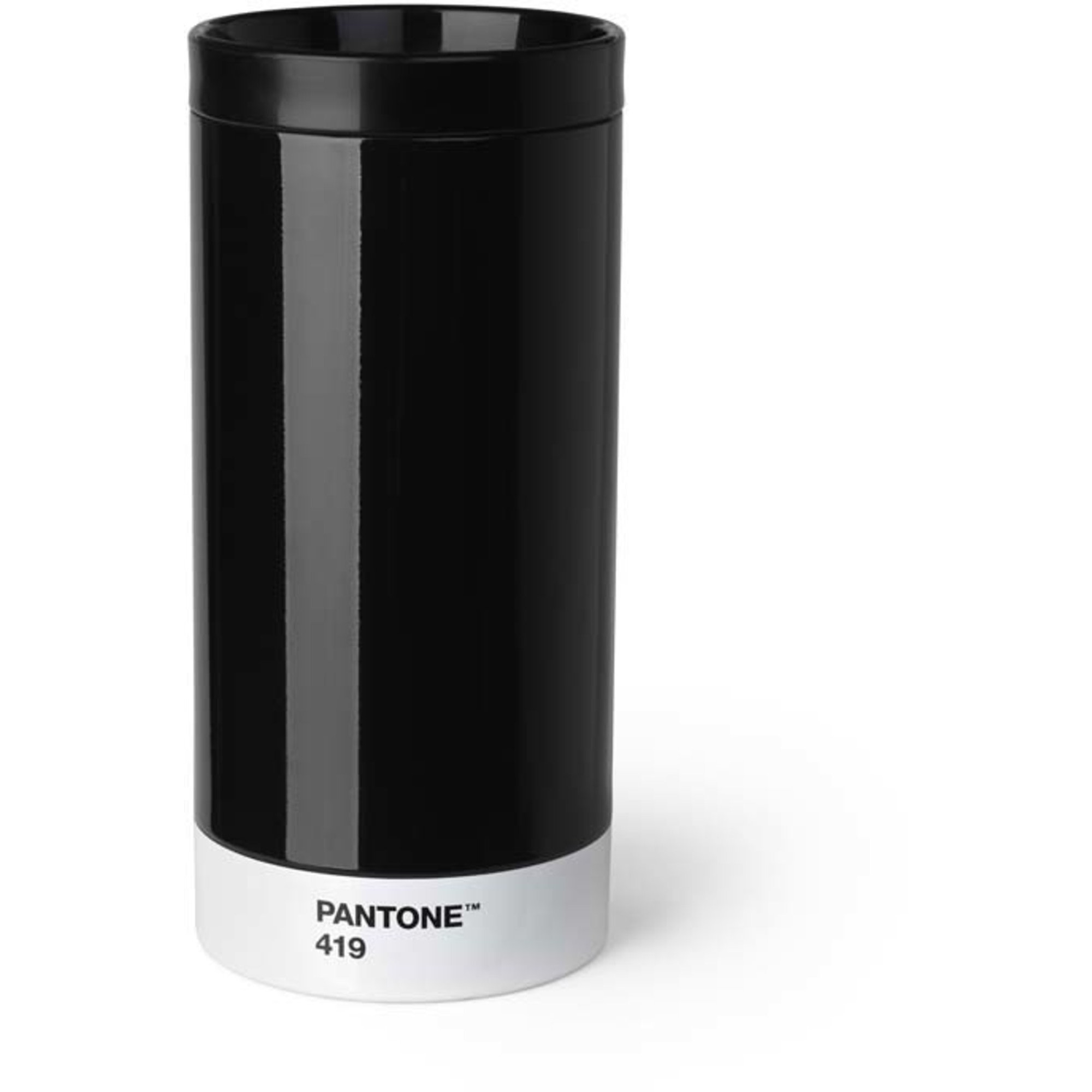 Pantone Living To go mug 43 cl Svart