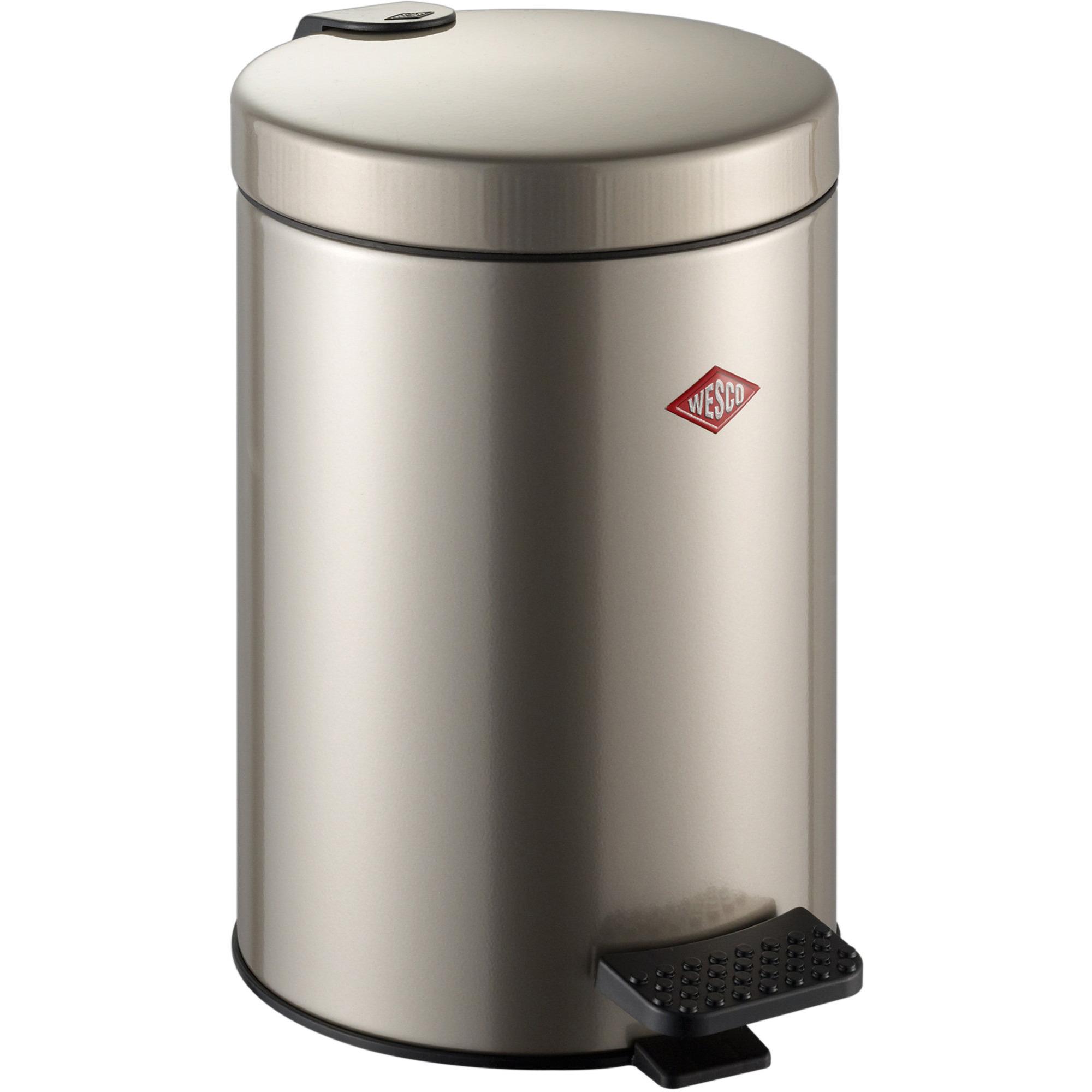 Wesco Pedalhink 104 5 liter – silverfärgad
