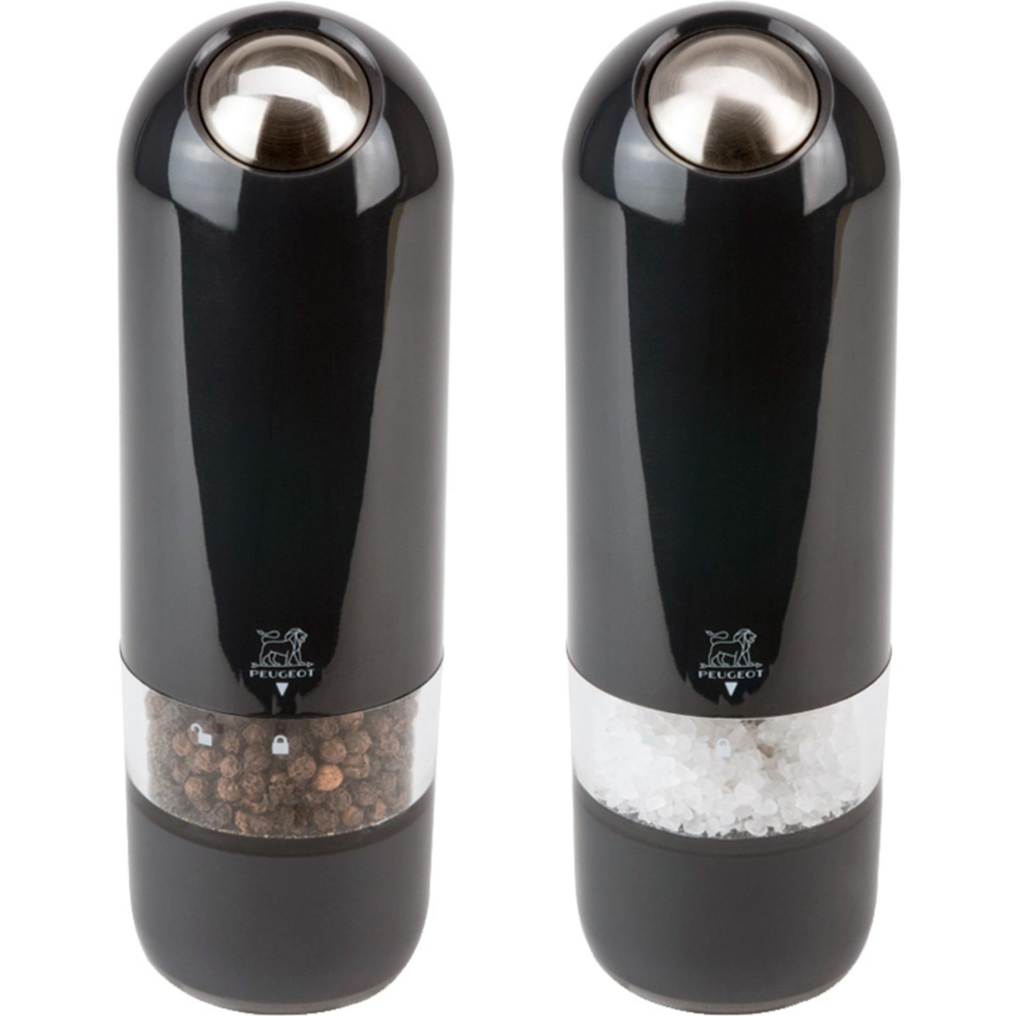Peugeot Alaska Duo Elektrisk Salt- & Pepparkvarn 17 cm Quartz Grå