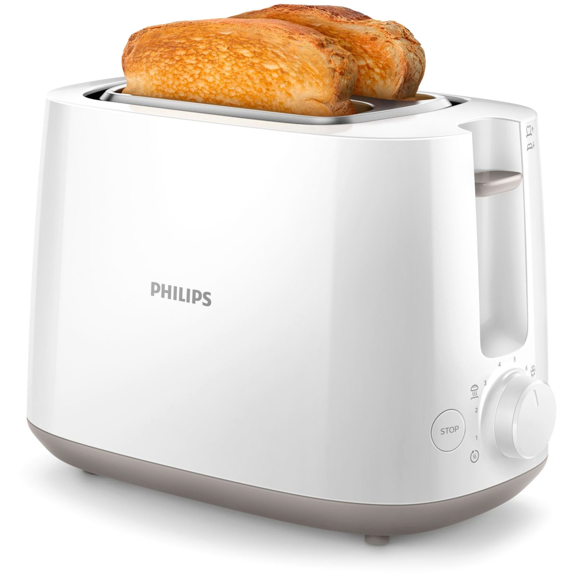 Philips Brödrost HD2581/00 Vit