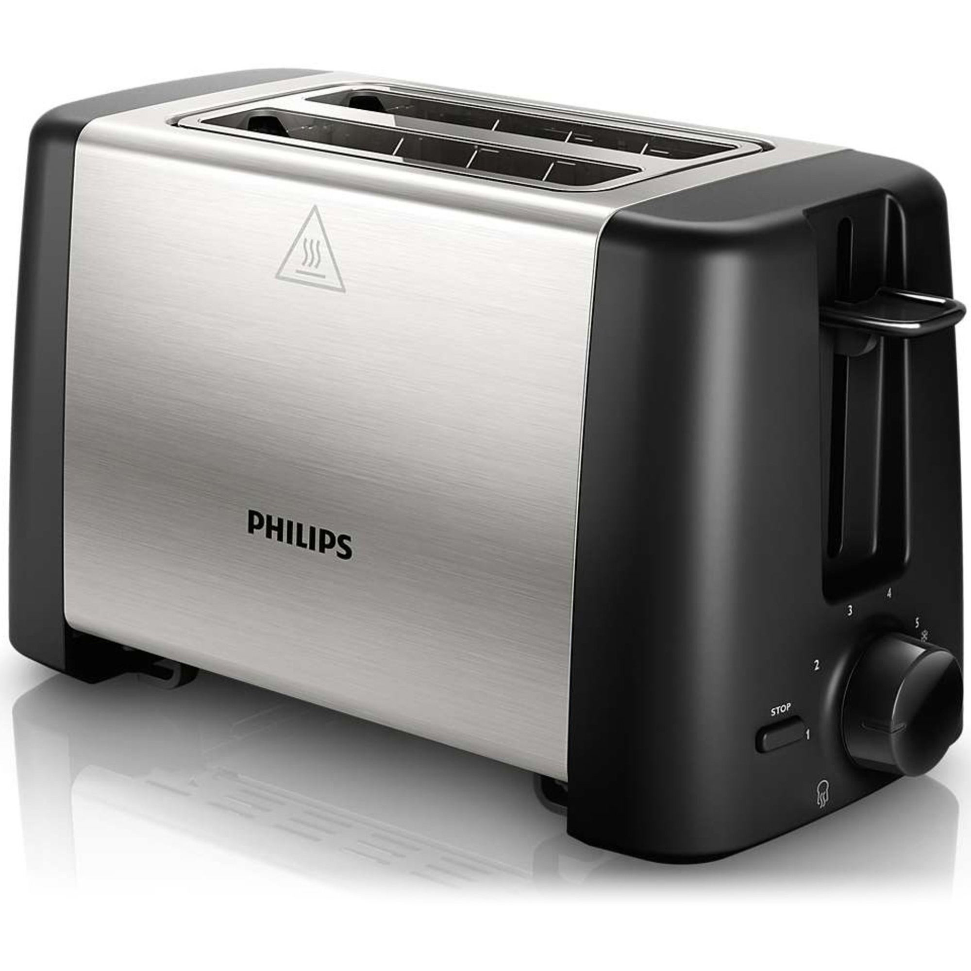 Philips Brødrister metal/sort HD4825/90