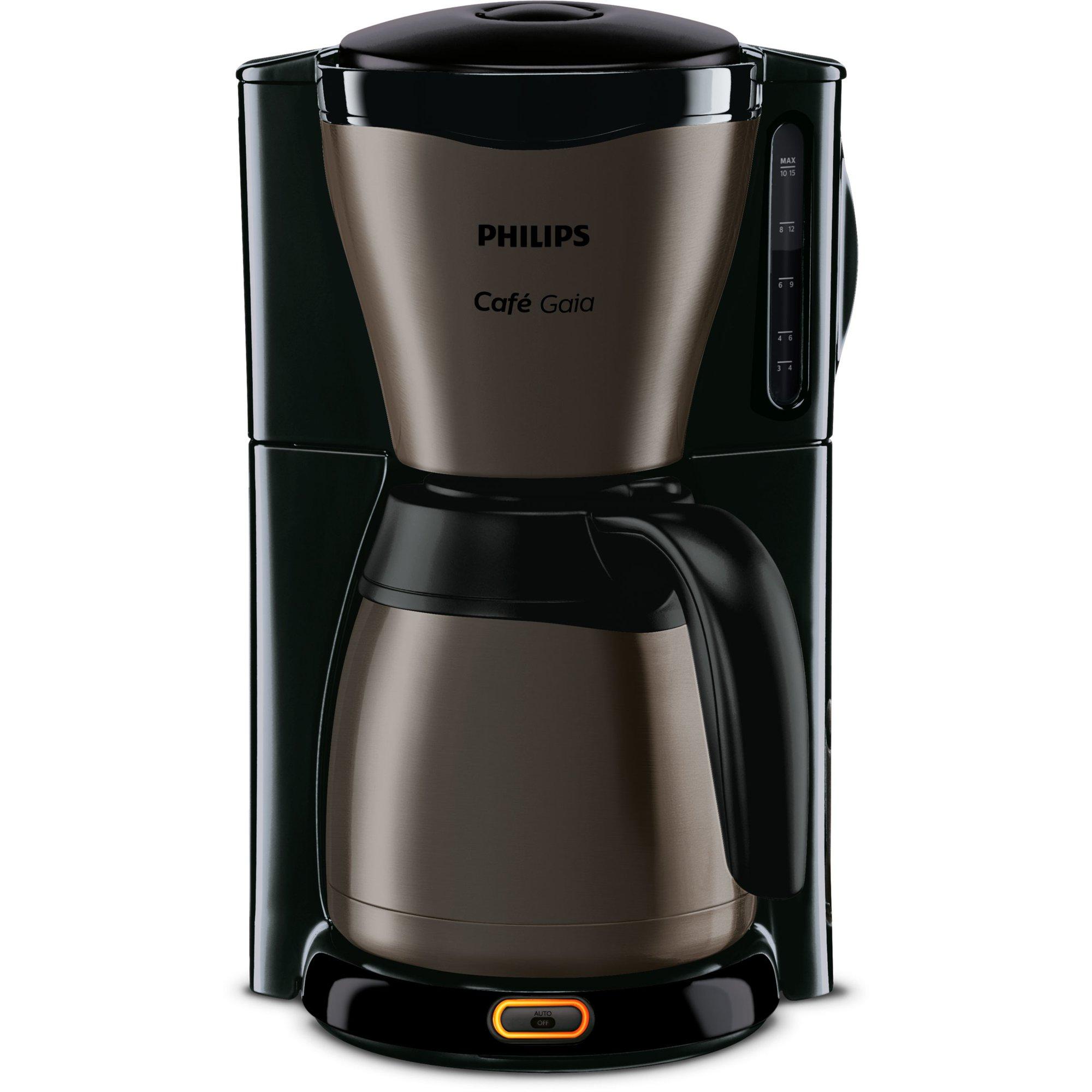 Philips HD7547/80 Kaffemaskin med termoskanna Svart