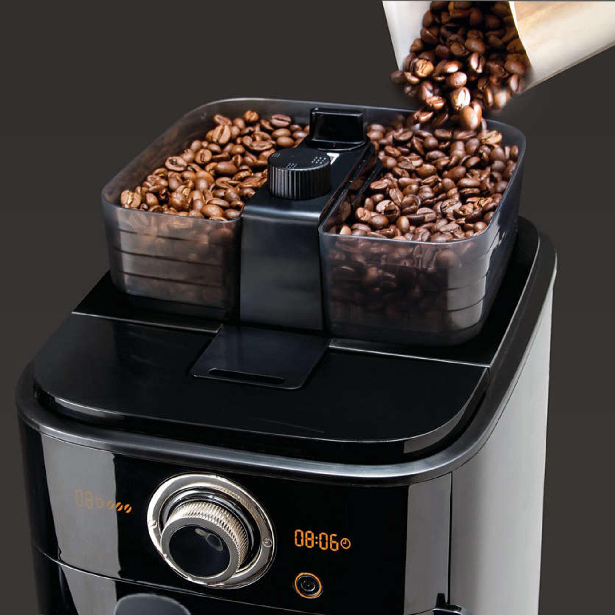 Bestil HD7766/00 Grind & Brew kaffemaskine fra Philips