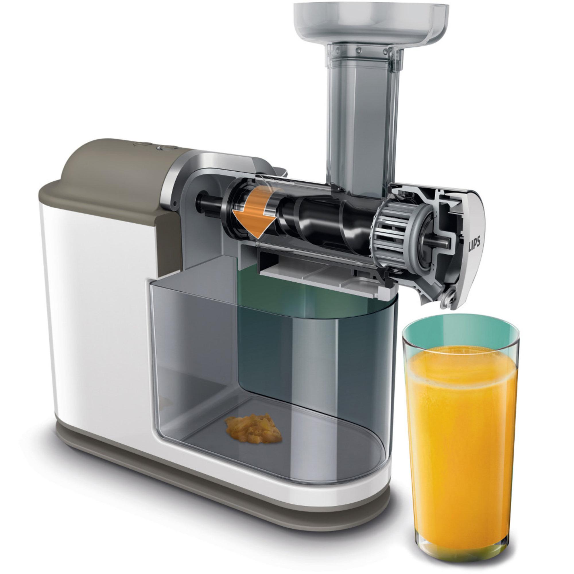 HR1894/80 Slow Juicer fra Philips Pres juice af dine favorit frugter
