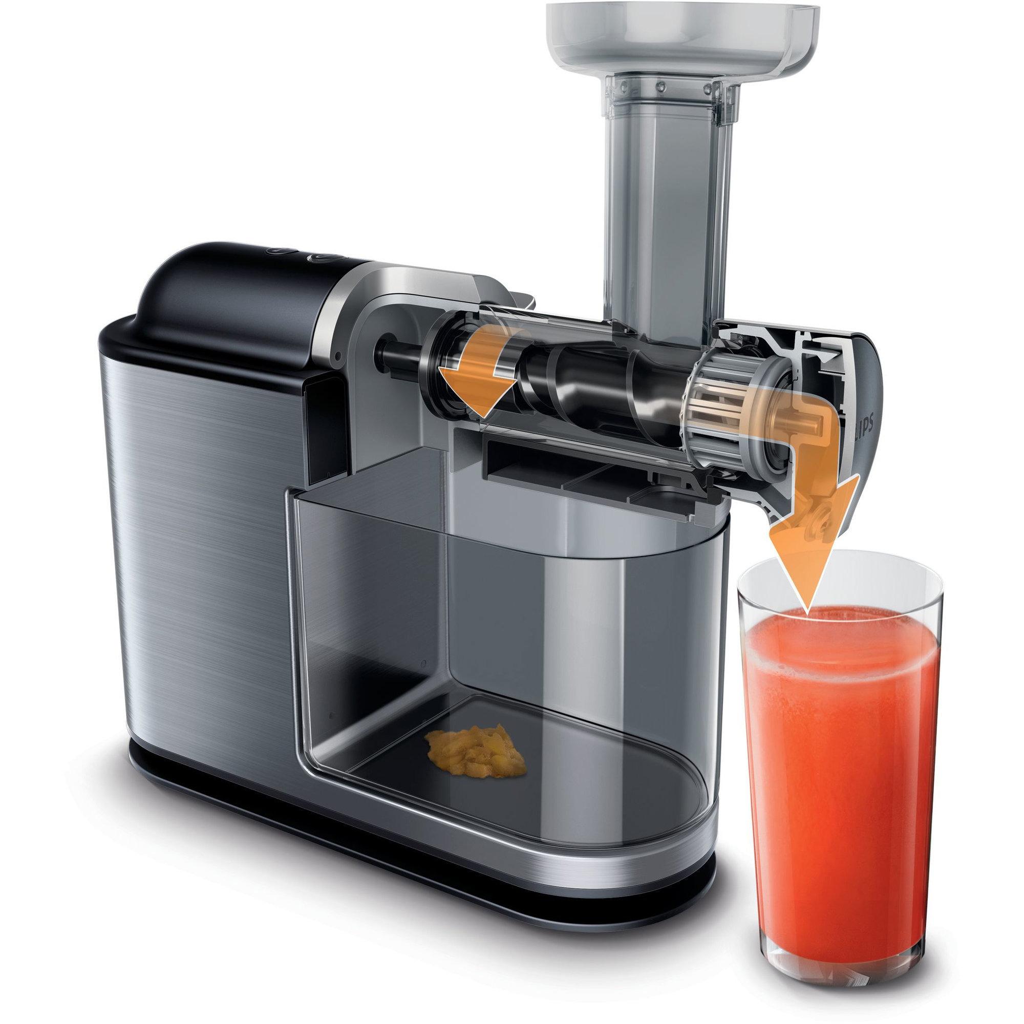 HR1949/20 Slowjuicer fra Philips Presser opp til 90% ut av frukten