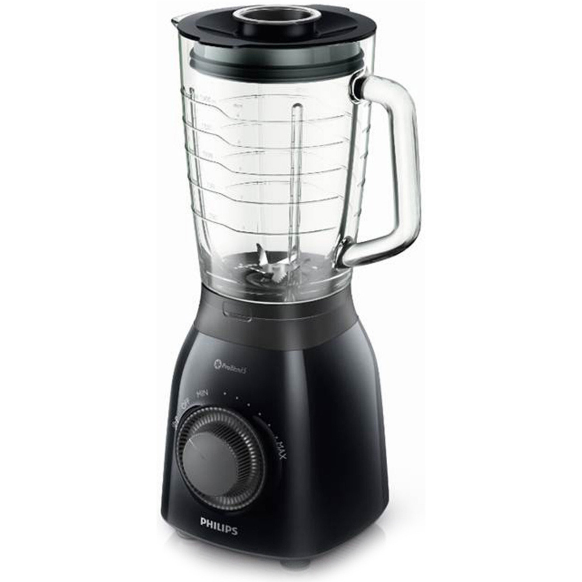 Philips HR2173/90 Blender 600 W sort