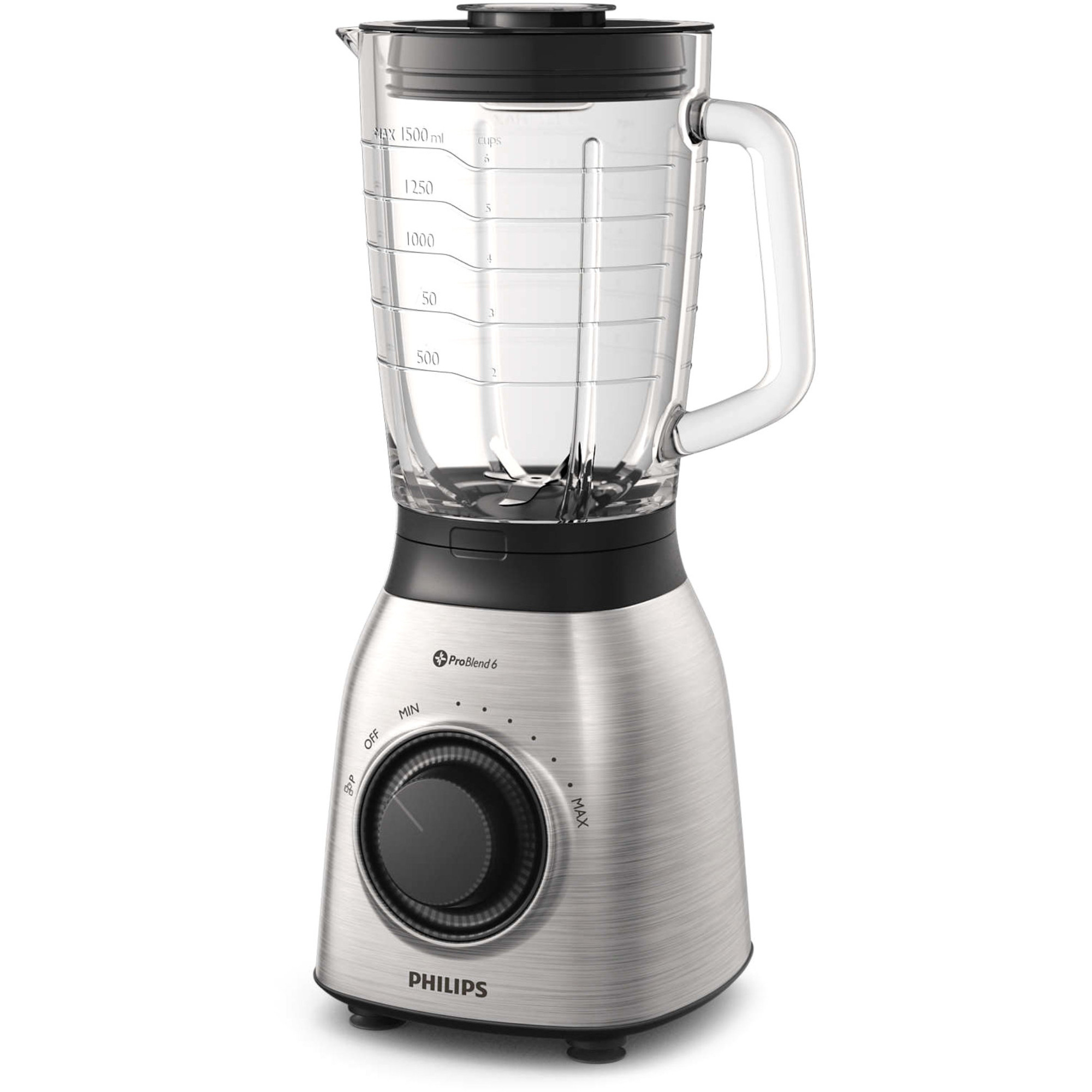 Philips HR3555/00 Blender 700w metal 2l