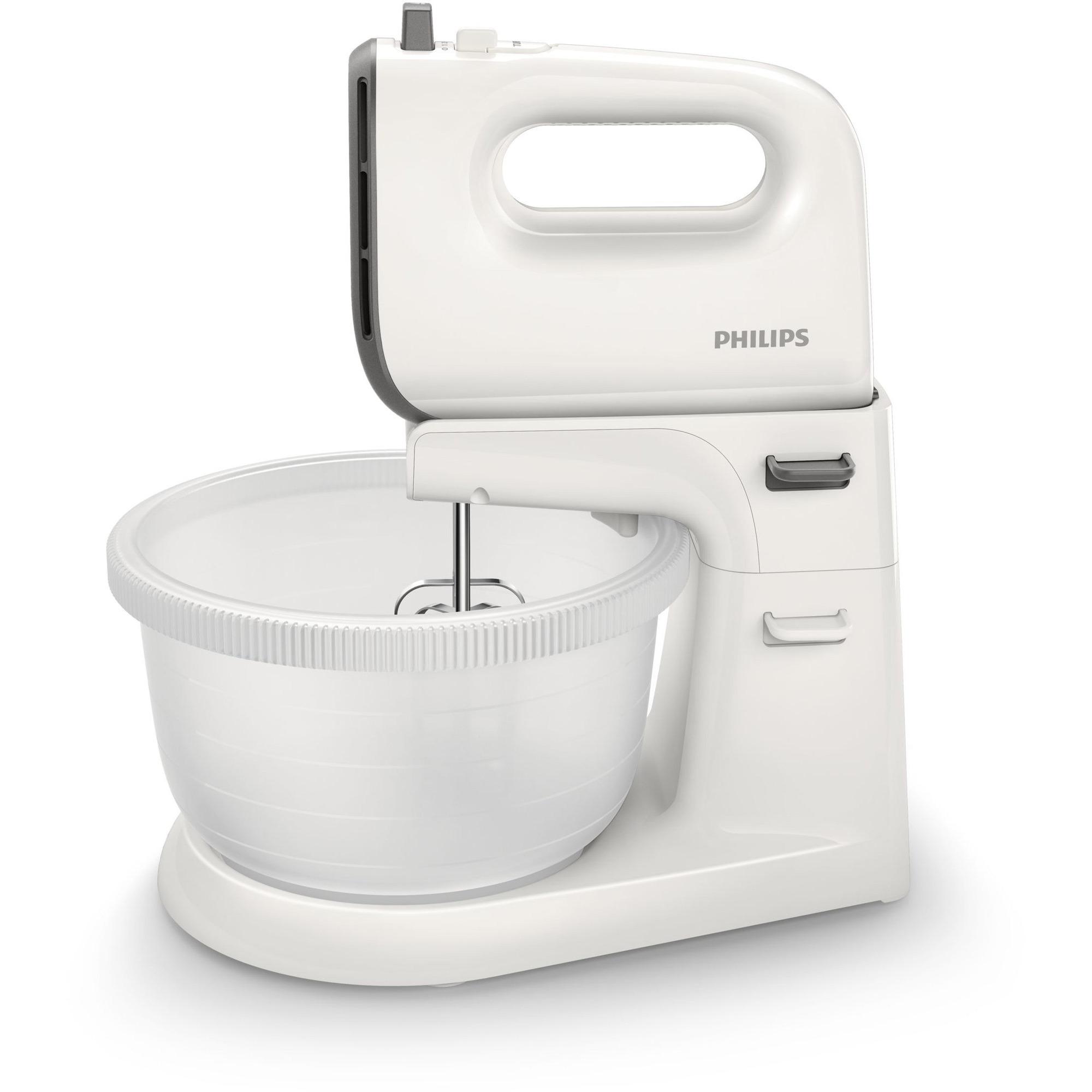 Philips HR3745/00 Elvisp med skål Grå/vit