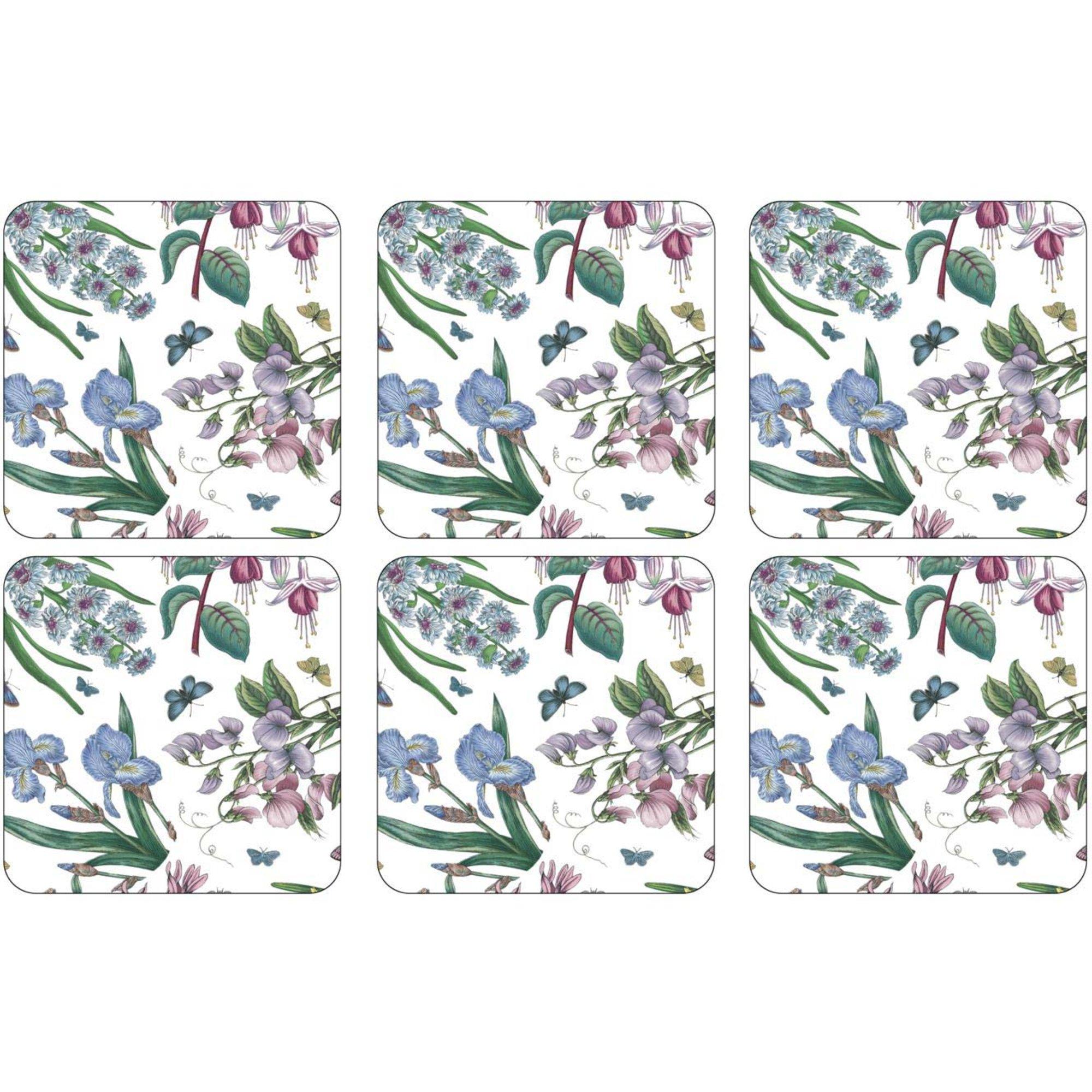 Pimpernel Botanic Garden Chintz Glasunderlägg 6 st