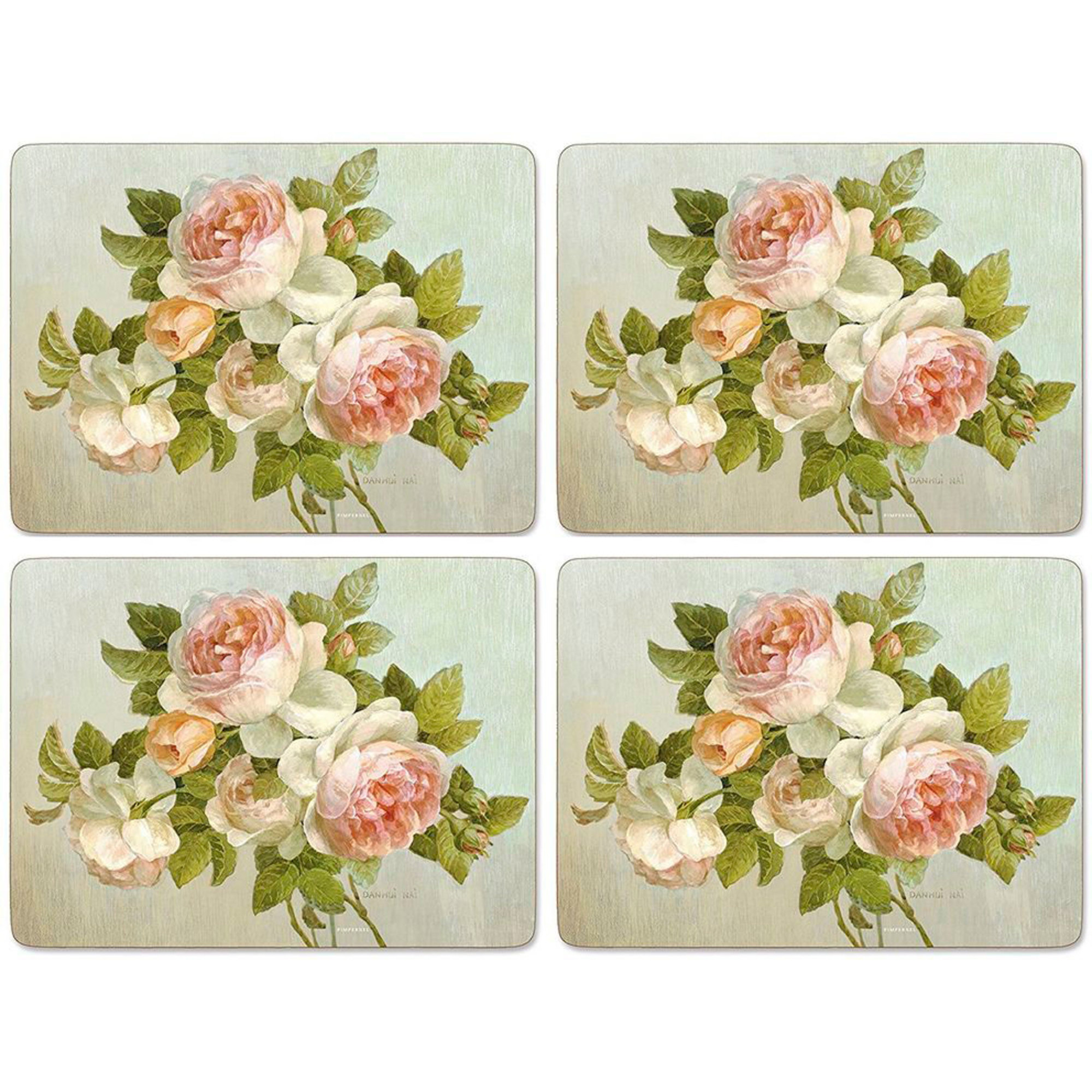 Pimpernel Antique Rose Bordsunderlägg 4-pack