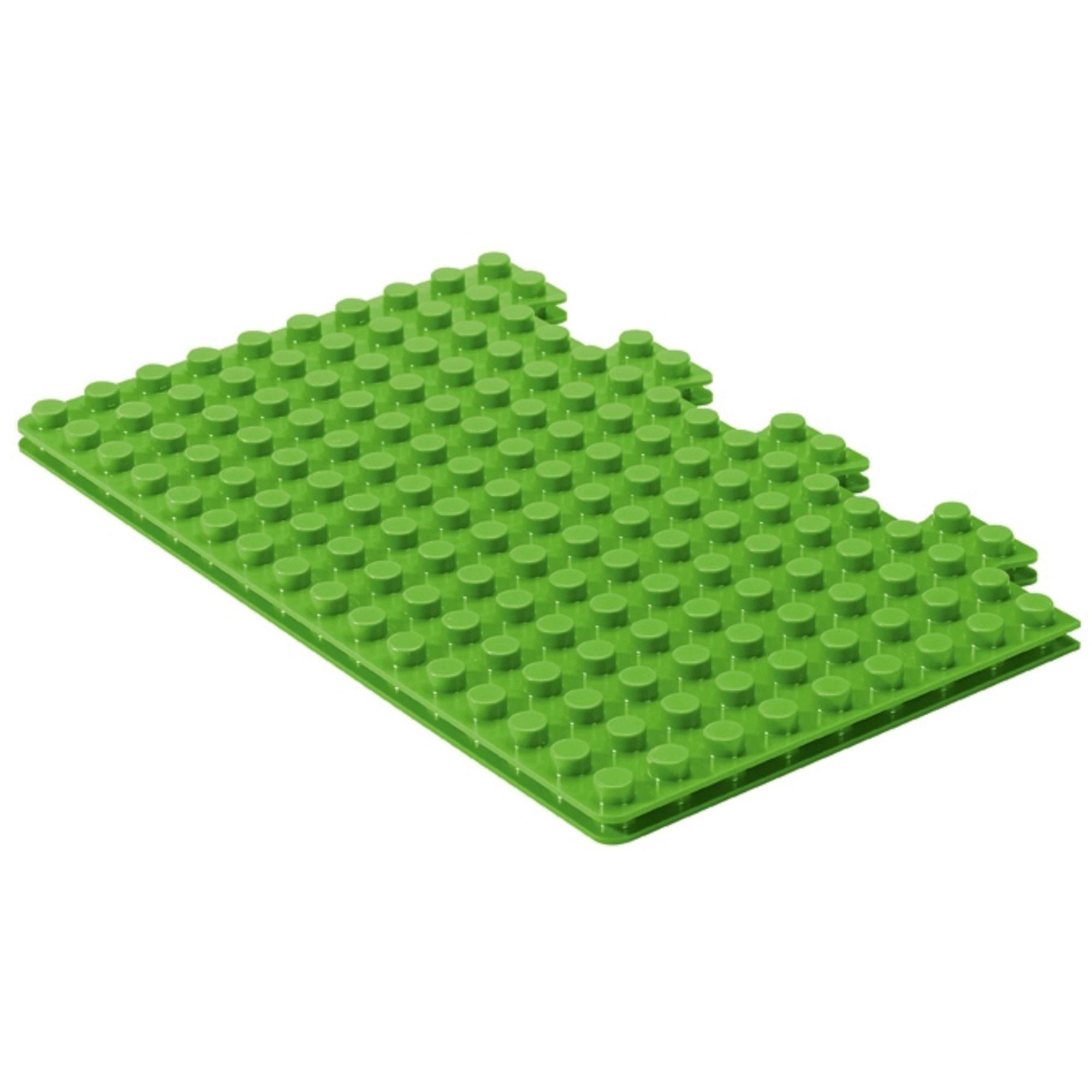 Pimpernel Placematix Barnunderlägg för byggklossar Twin Grön