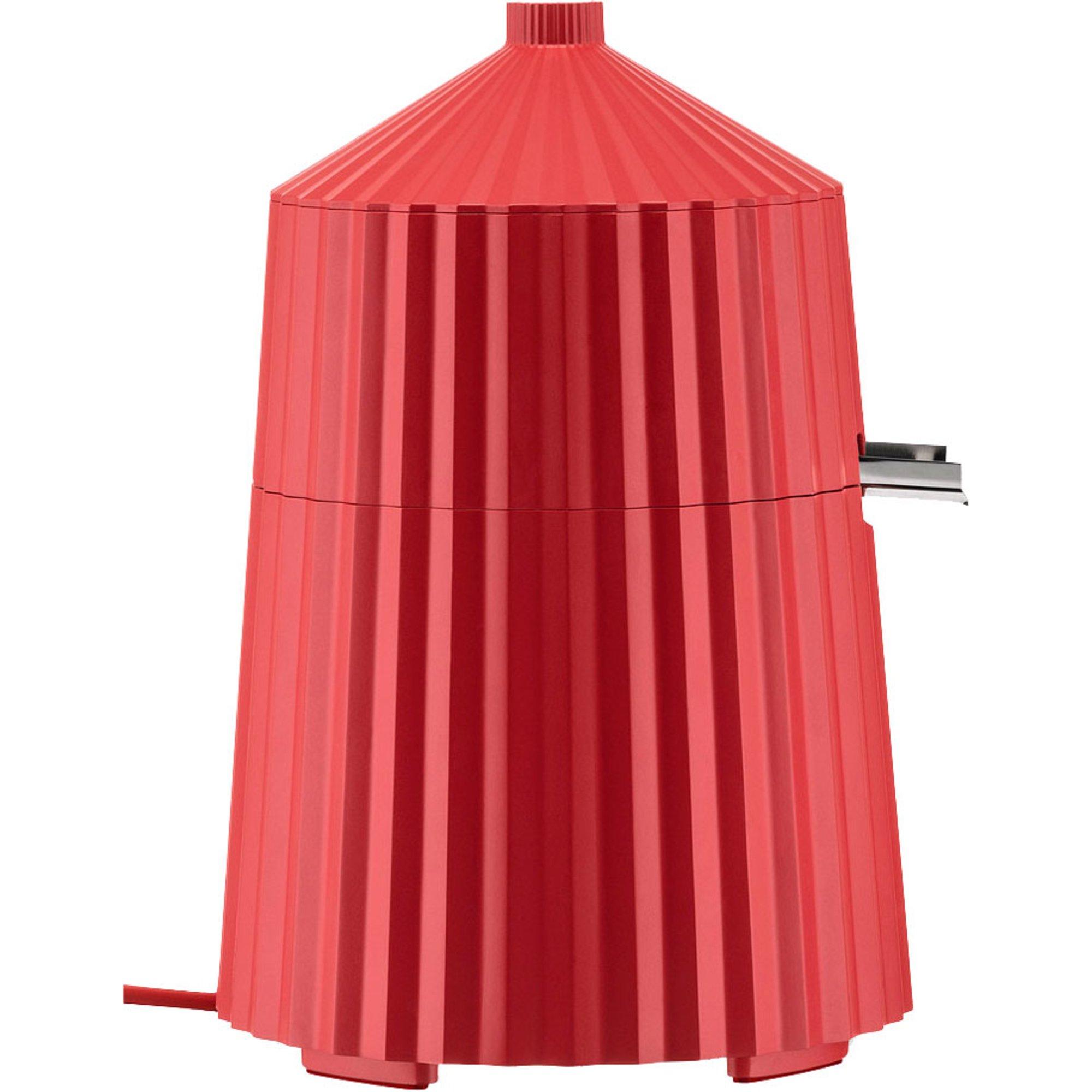 Alessi Plissé elektrisk citruspress röd