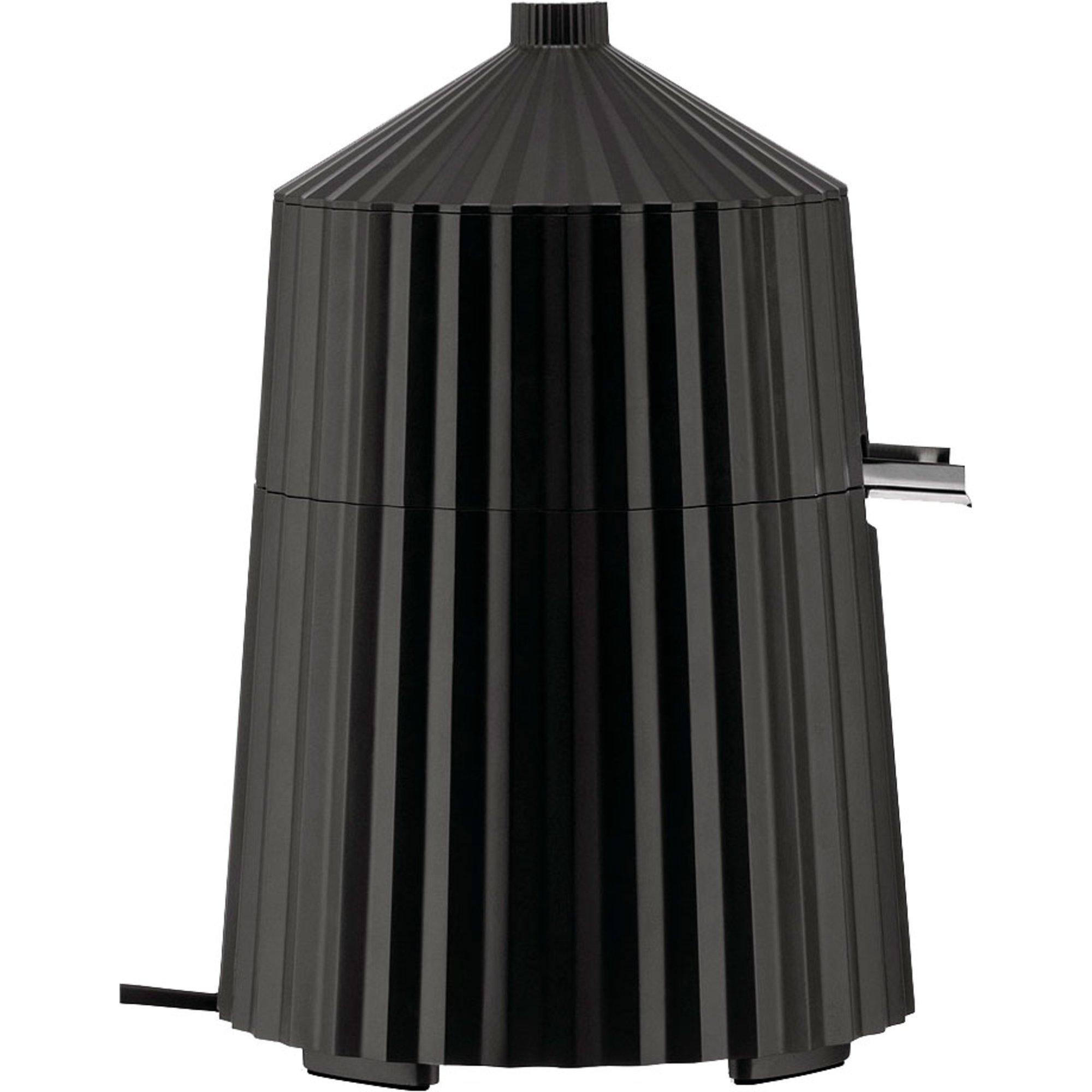 Alessi Plissé elektrisk citruspress svart