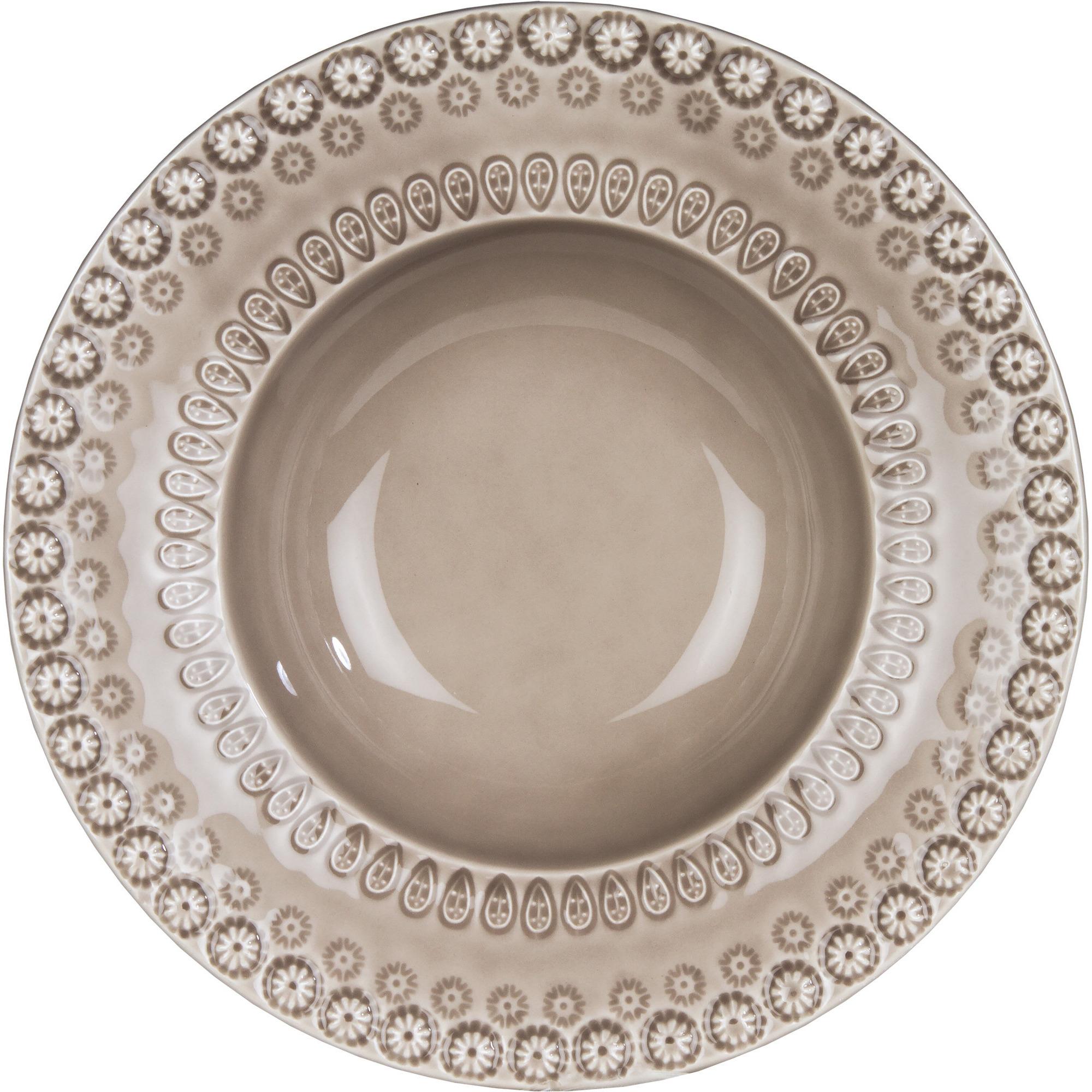 PotteryJo Daisy Soppskål 21 cm Greige