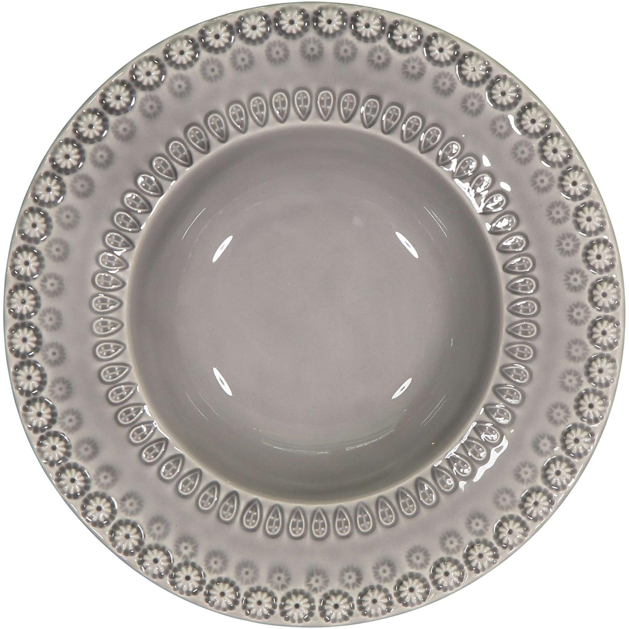 PotteryJo Daisy Soppskål 21 cm Soft Grey