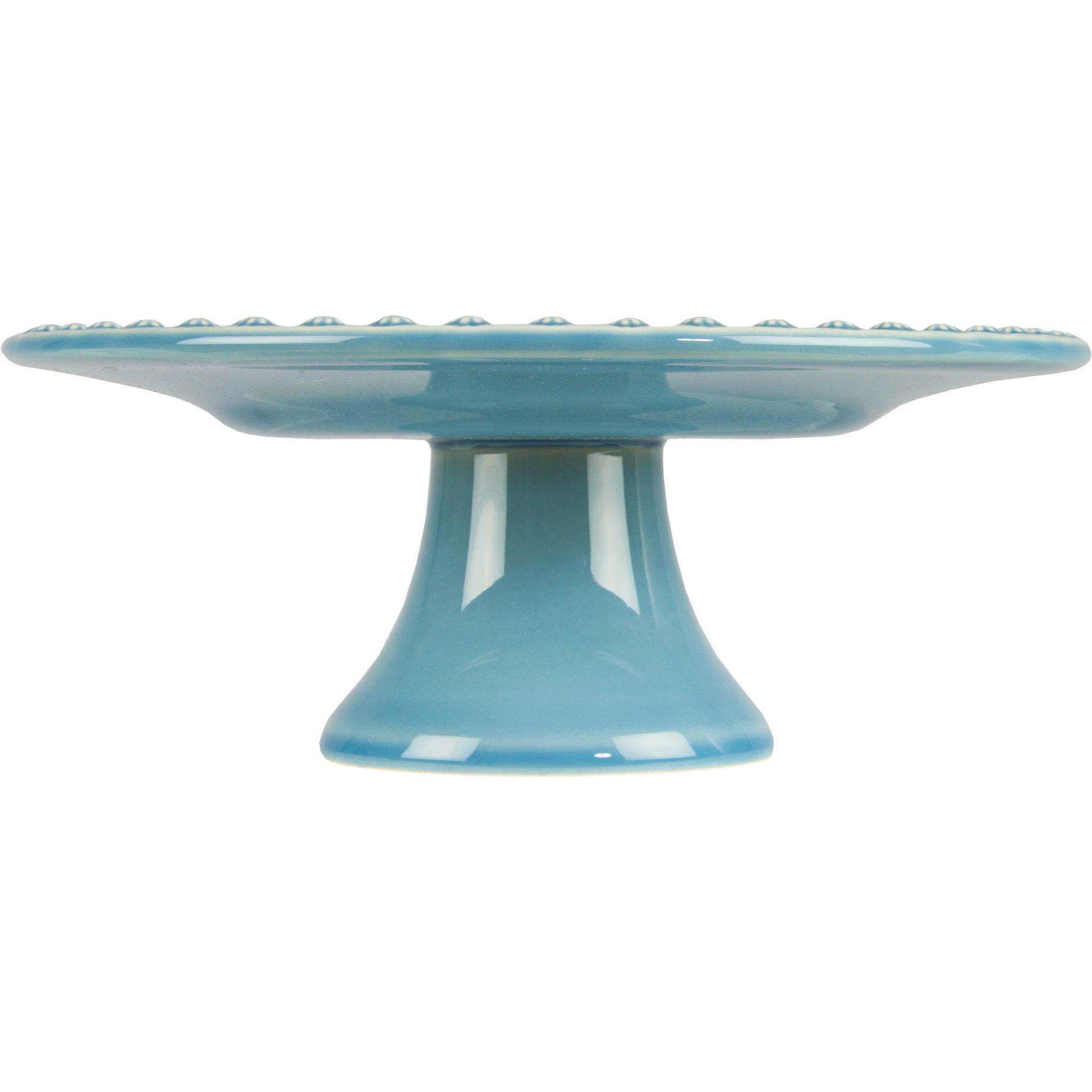 PotteryJo Daisy Tårtfat 22 cm Dusty Blue