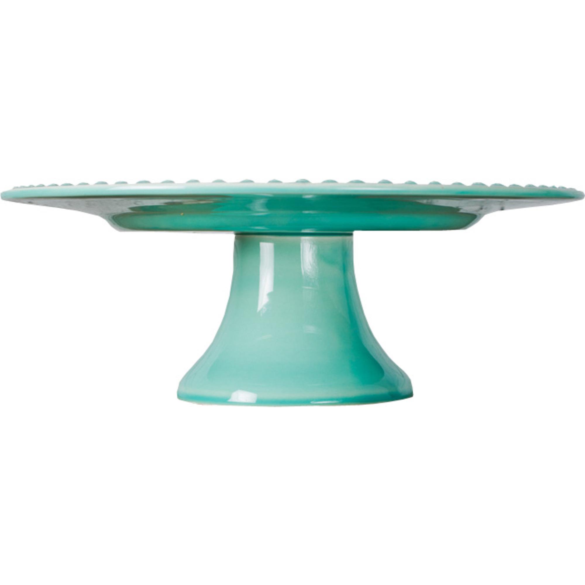 PotteryJo Daisy Tårtfat 22 cm Turquoise