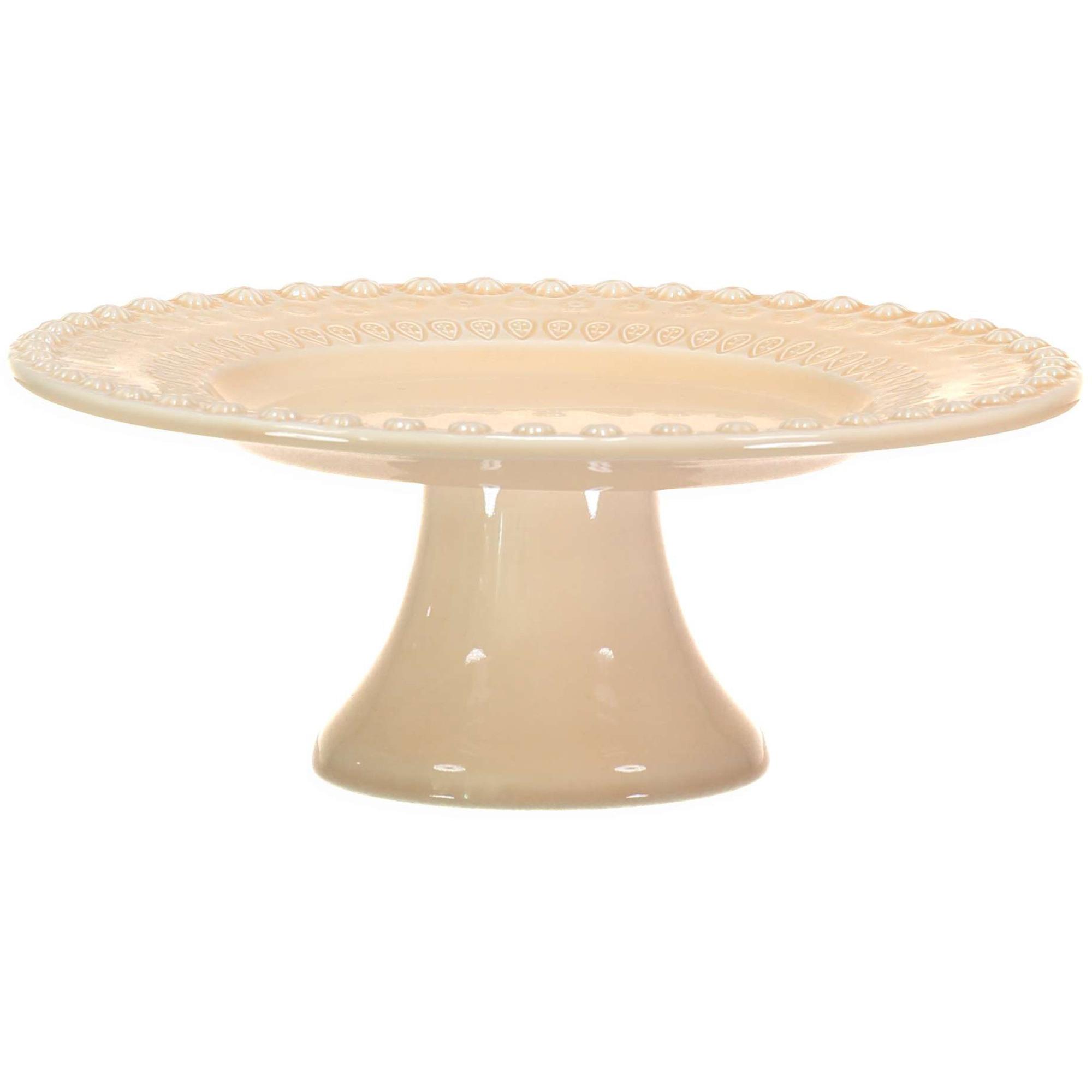 PotteryJo Daisy Tårtfat 35 cm Nude