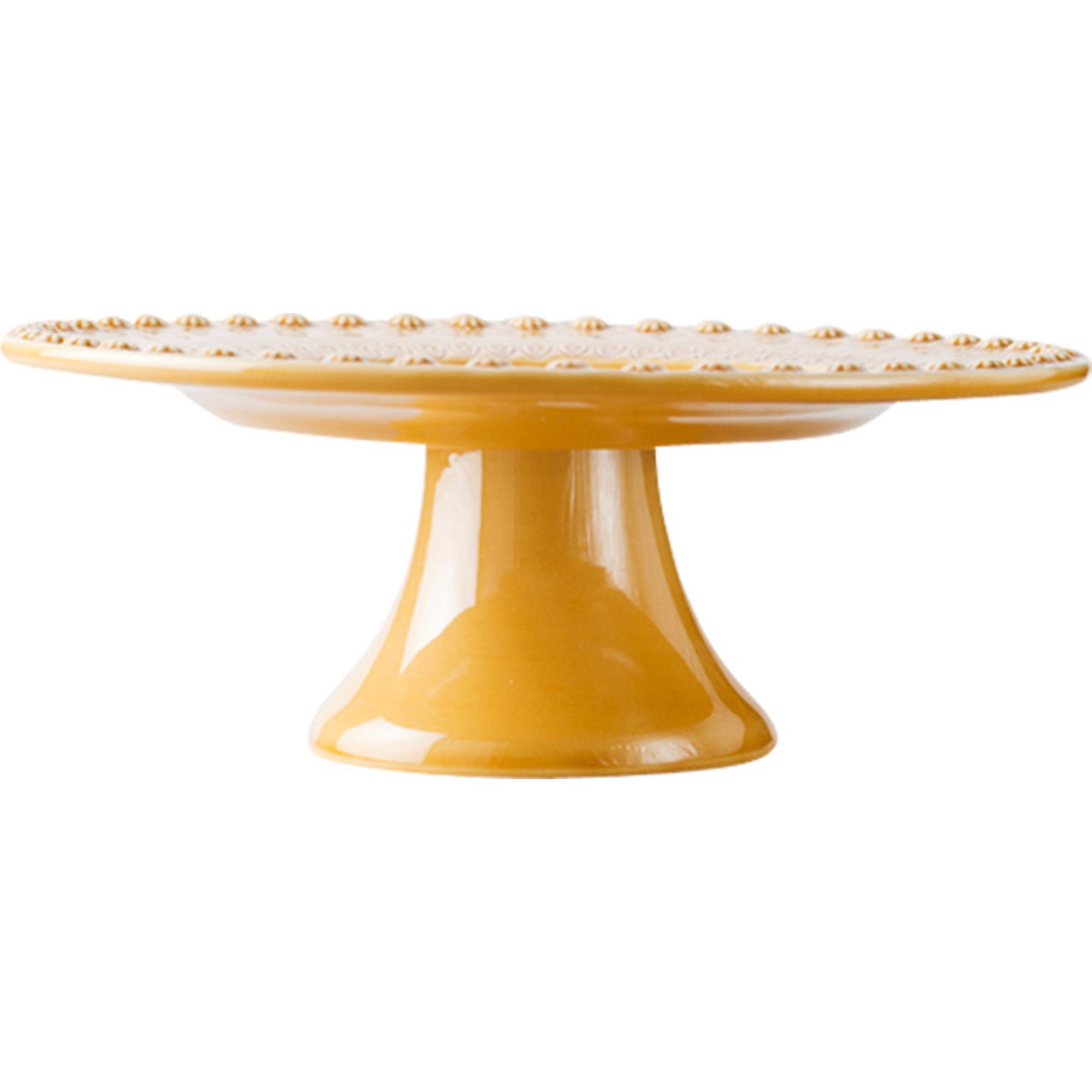PotteryJo Daisy Tårtfat 35 cm Sienna