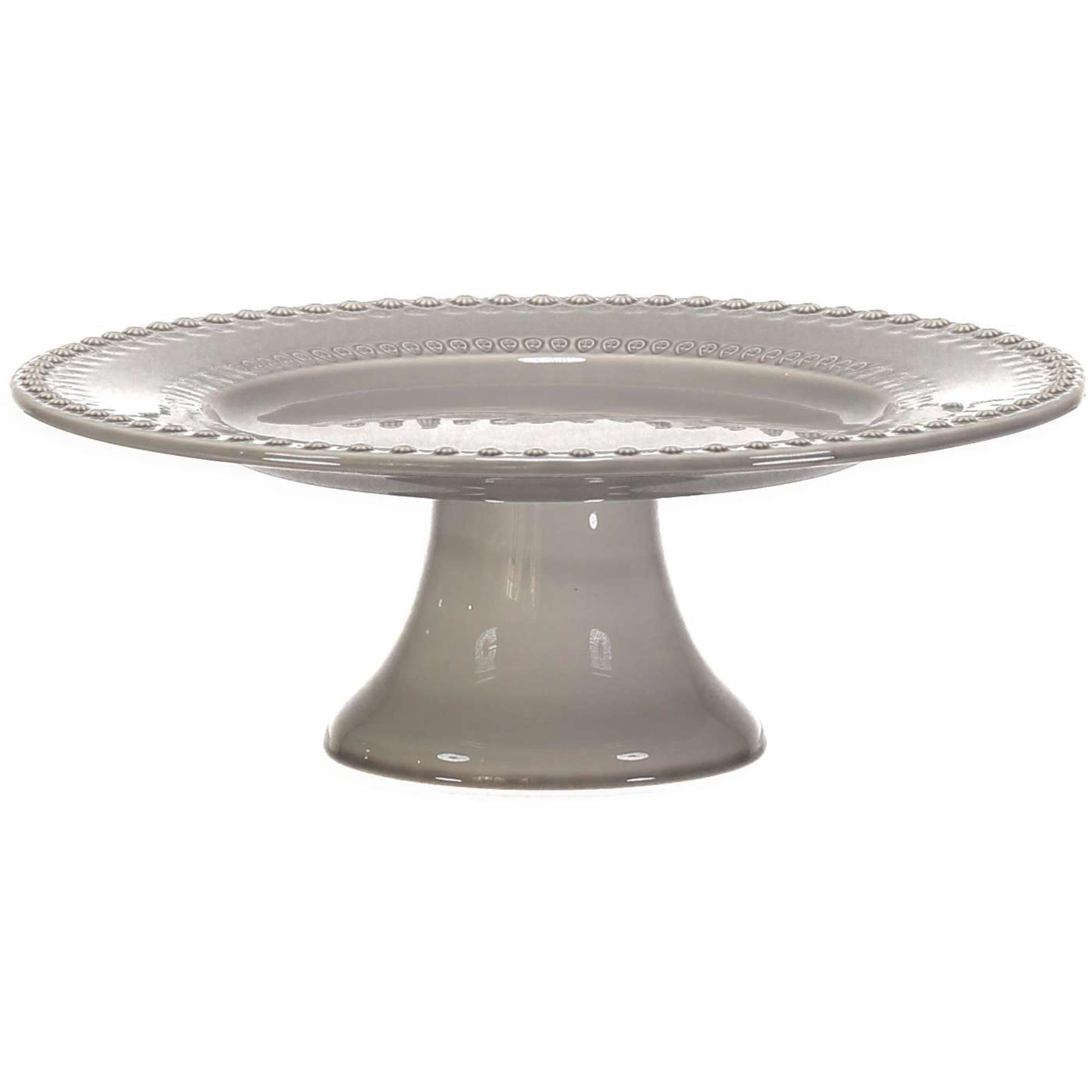 PotteryJo Daisy Tårtfat 35 cm Soft Grey