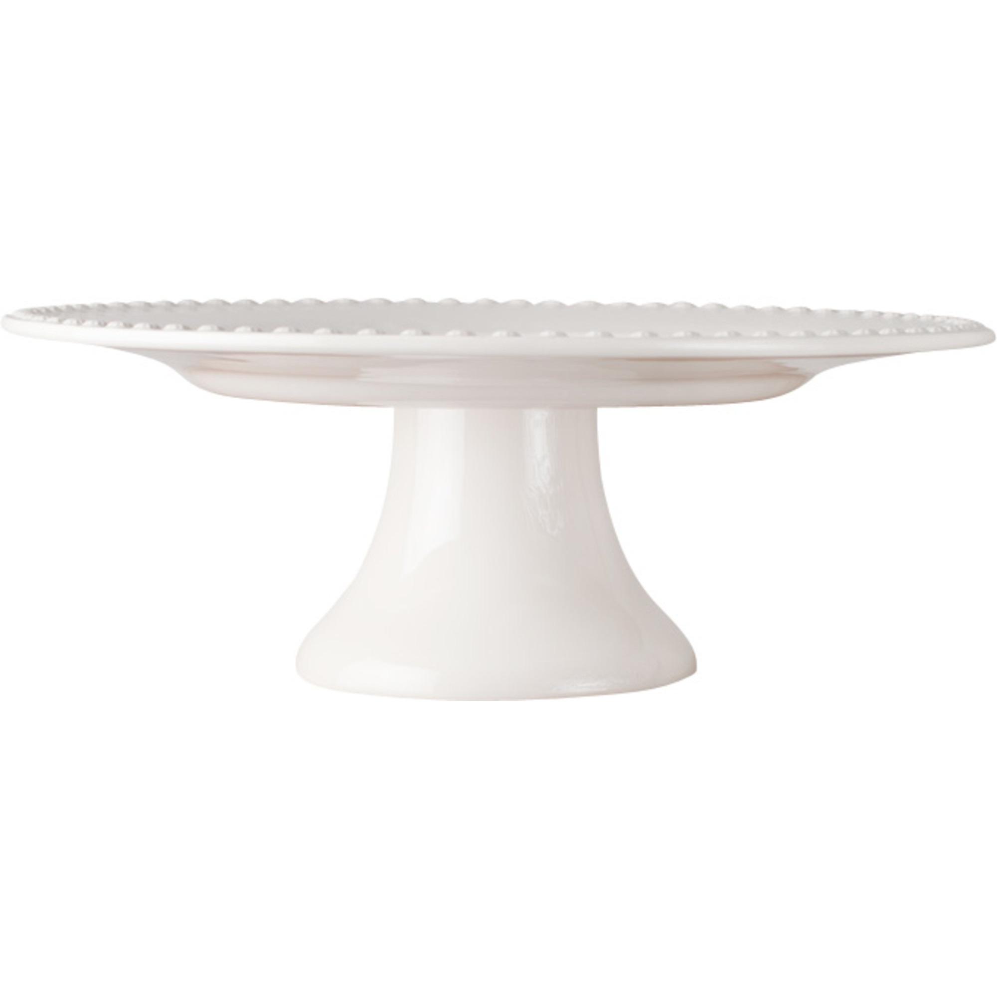 PotteryJo Daisy Tårtfat 35 cm White
