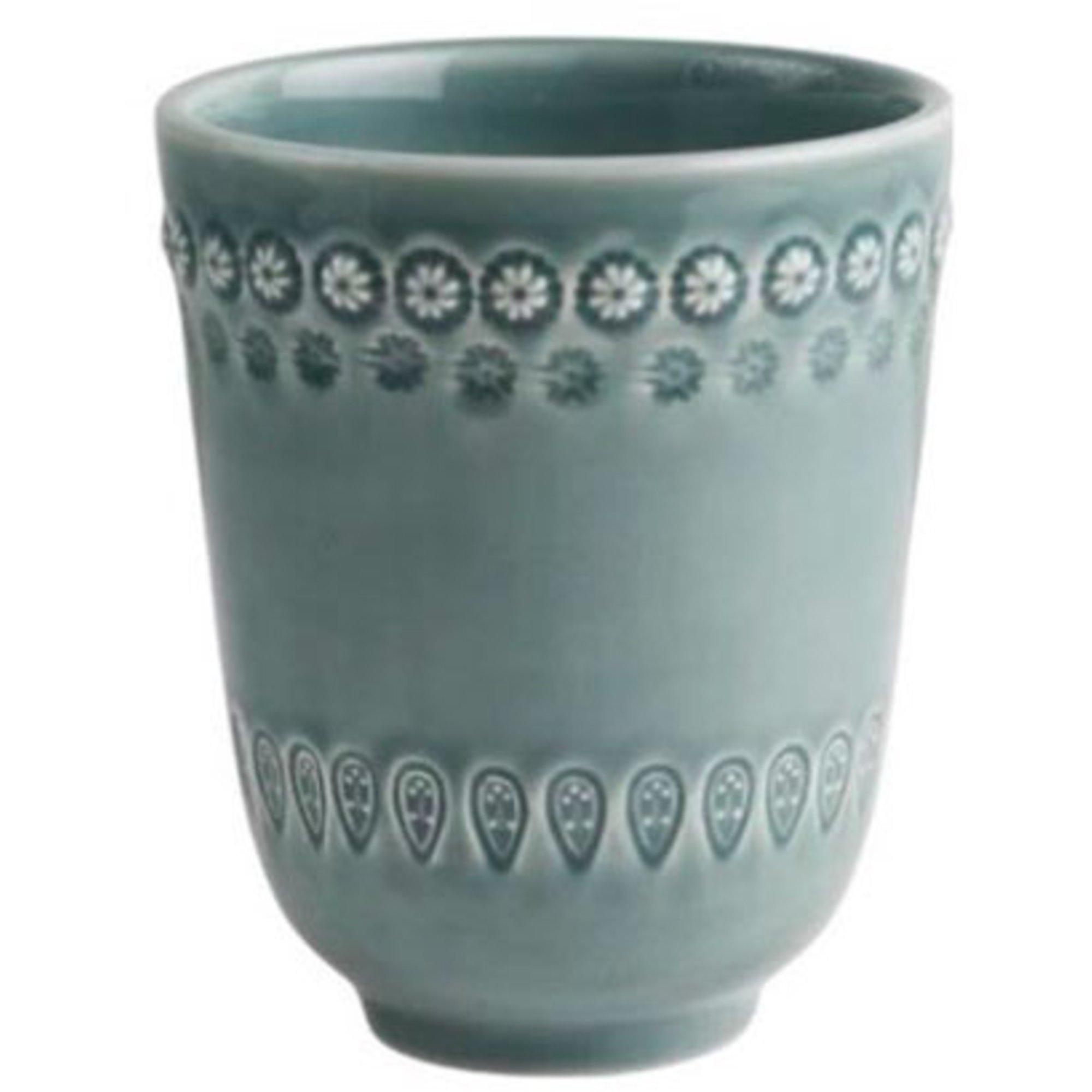 PotteryJo Daisy Mugg 2 st Cement