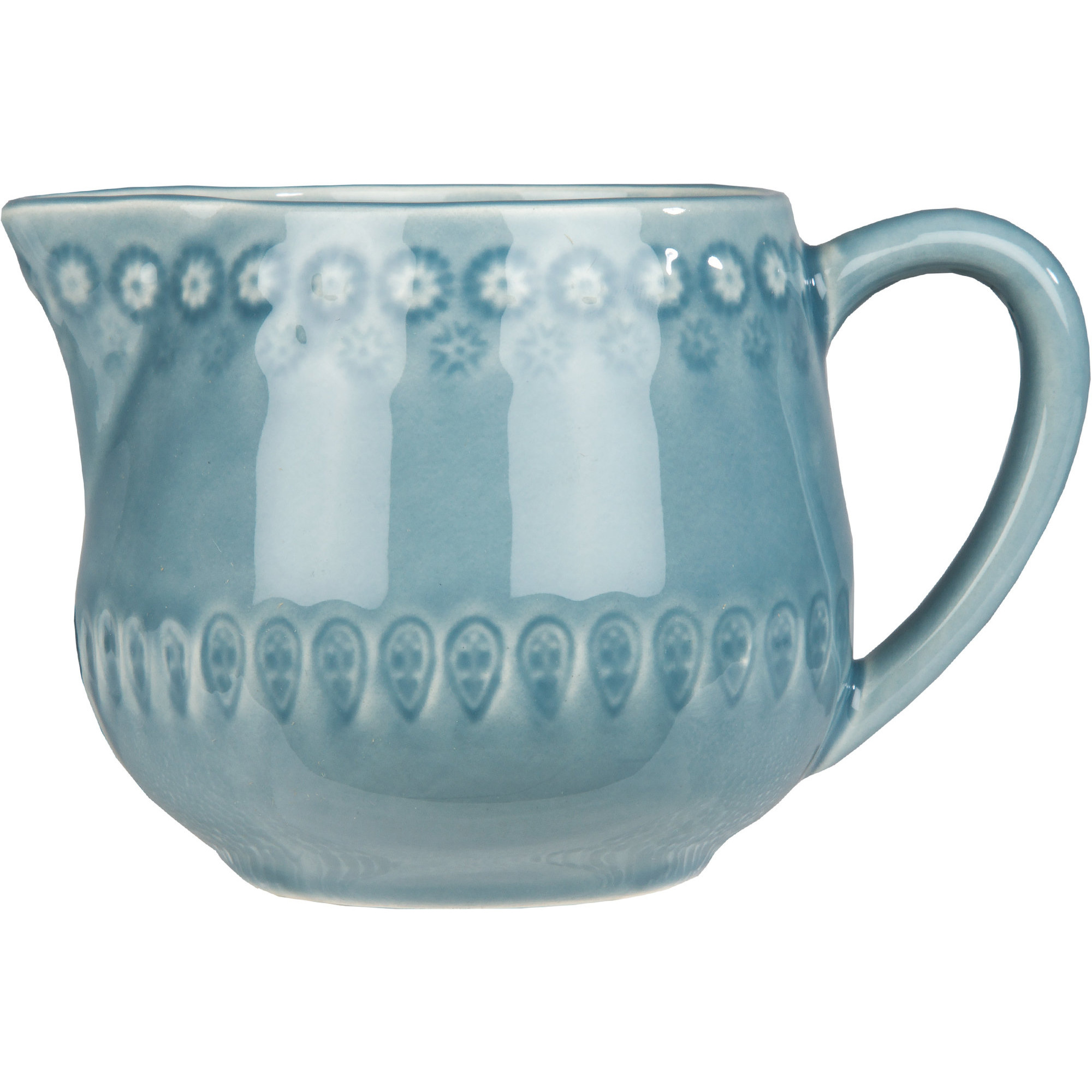 PotteryJo Daisy Mjölkkanna 30 cl Dusty Blue