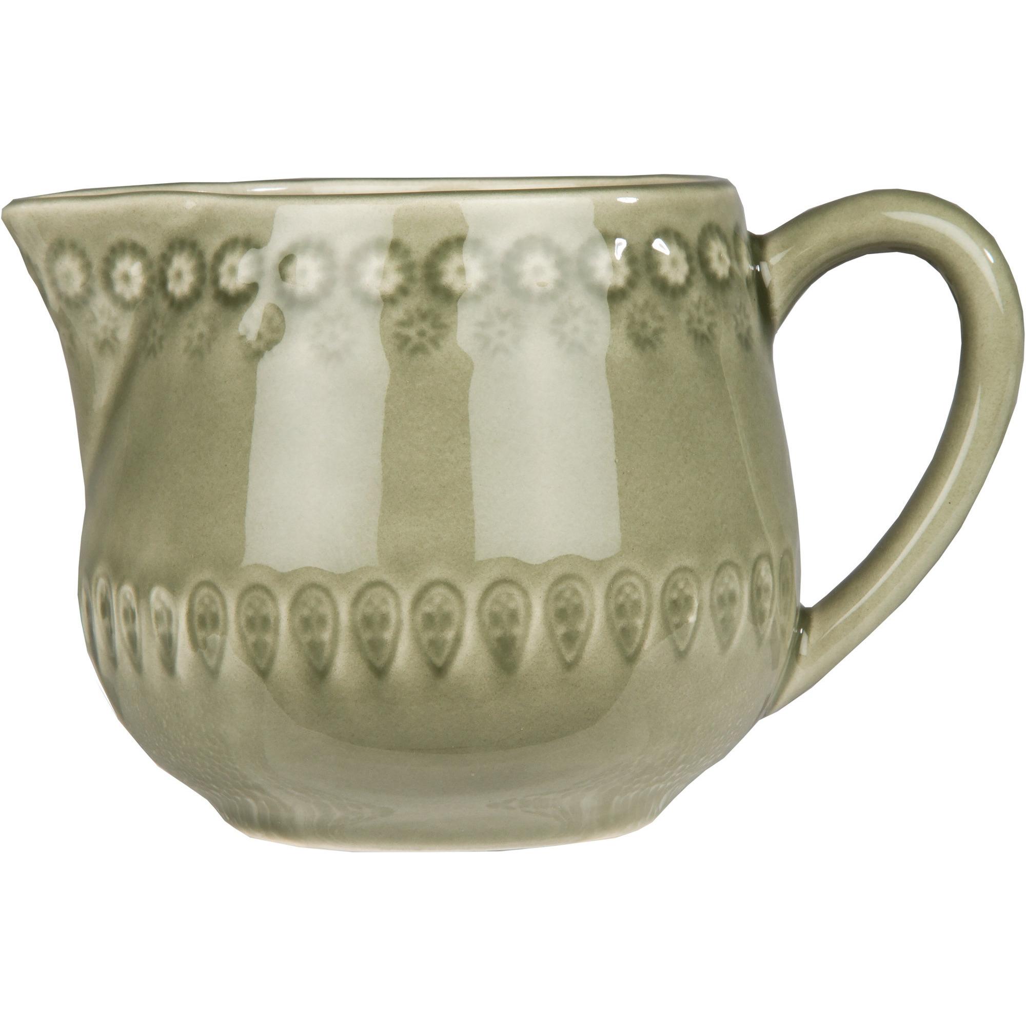 PotteryJo Daisy Mjölkkanna 30 cl Faded Army