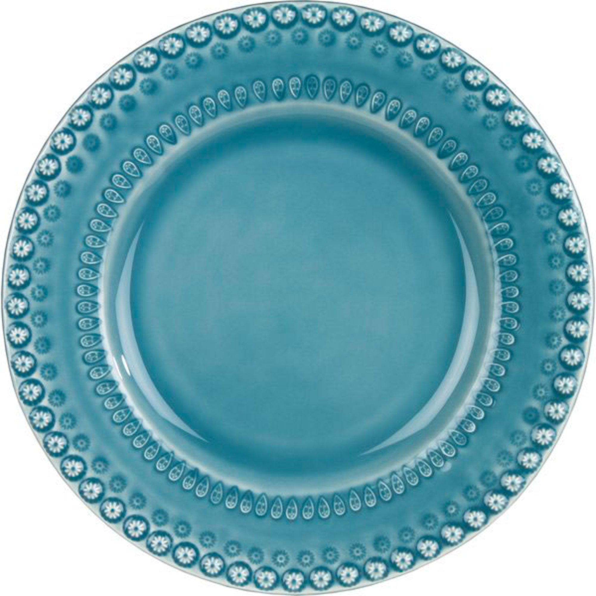 PotteryJo Daisy Middagstallrik 2 st Dusty Blue