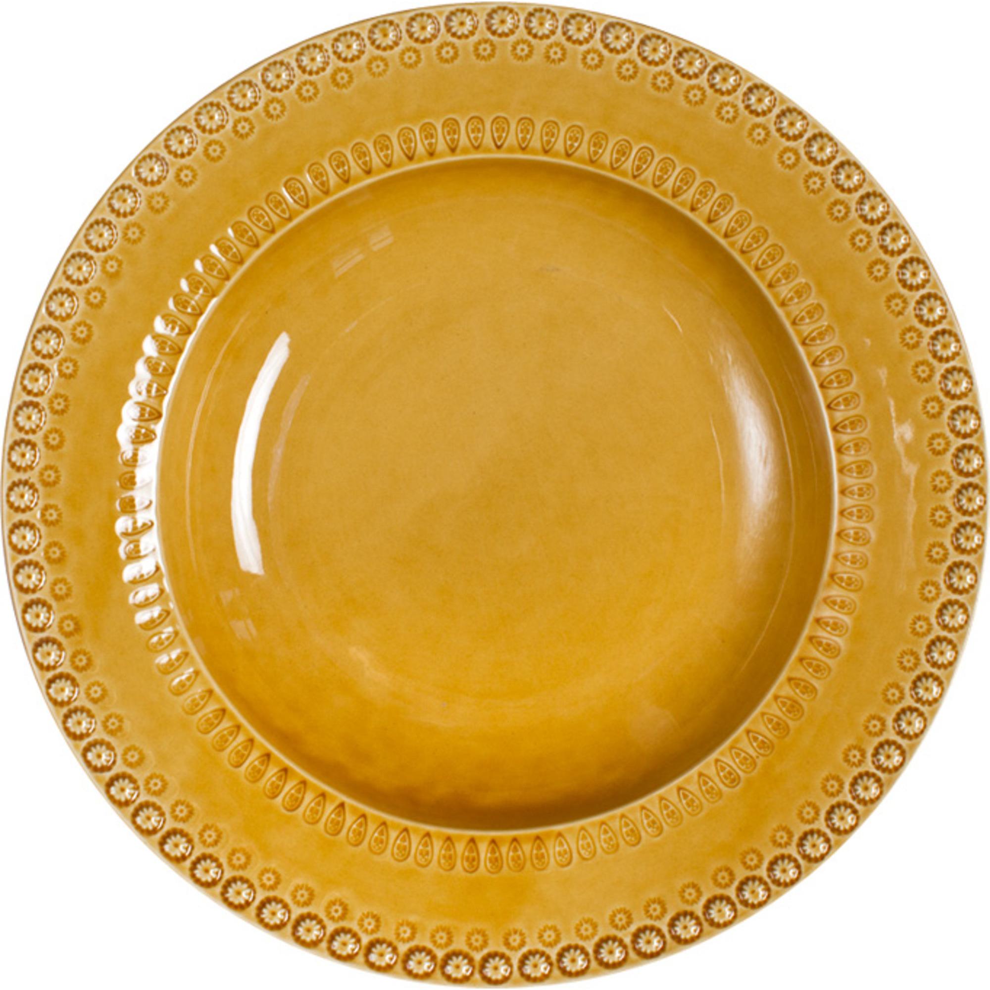 PotteryJo Daisy Pastatallrik 35 cm Sienna