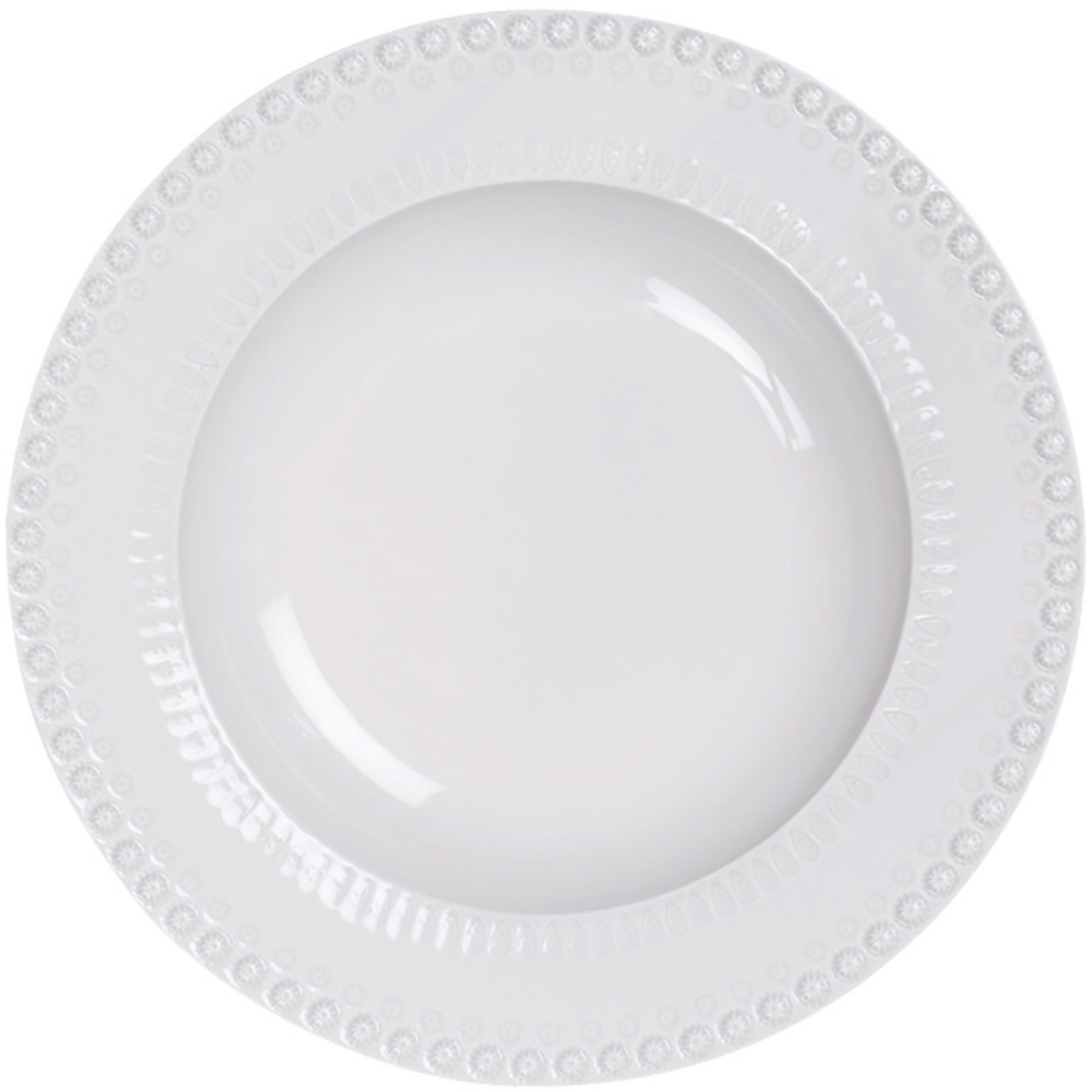 PotteryJo Daisy Pastatallrik 35 cm White