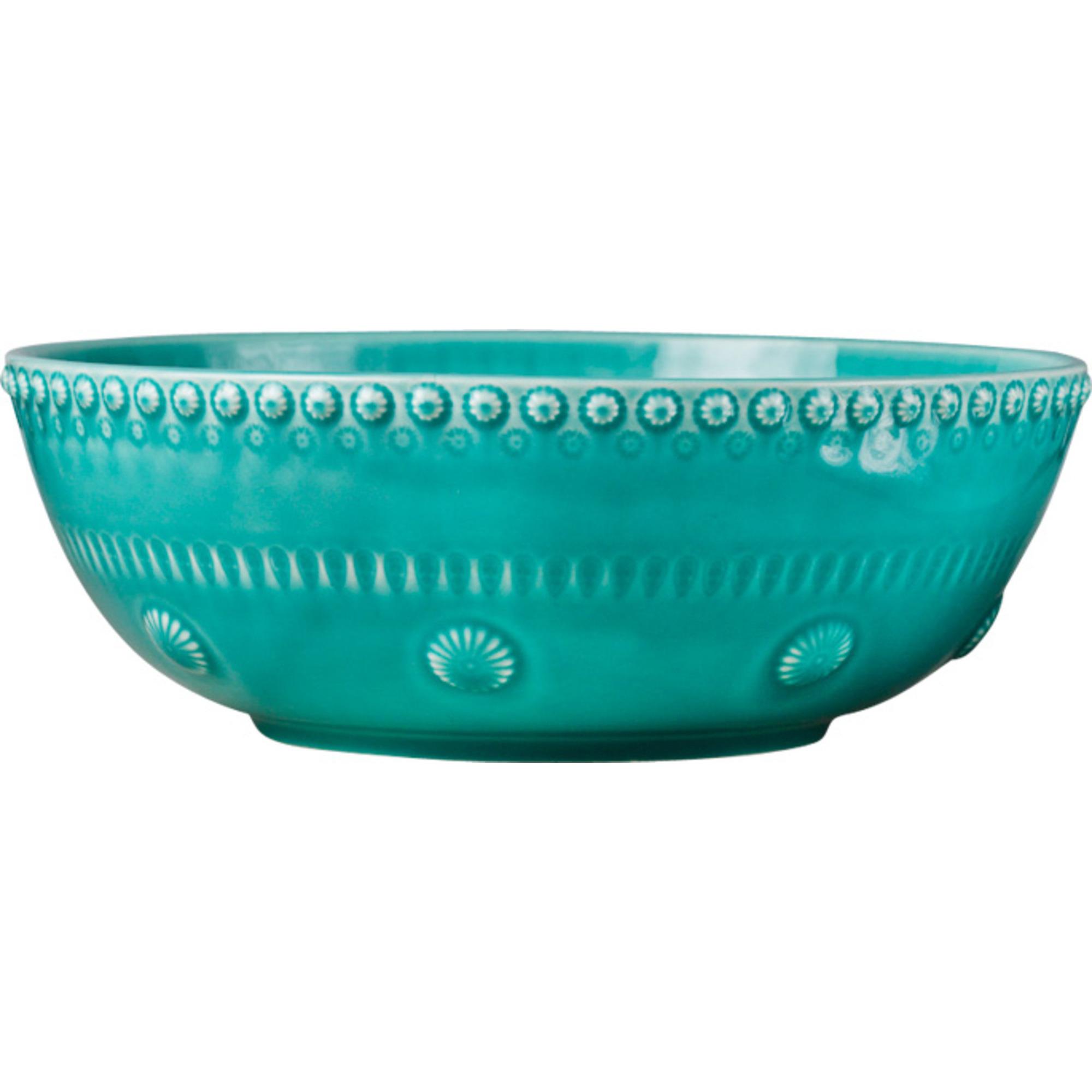 PotteryJo Daisy Salladsskål 30 cm Turquoise