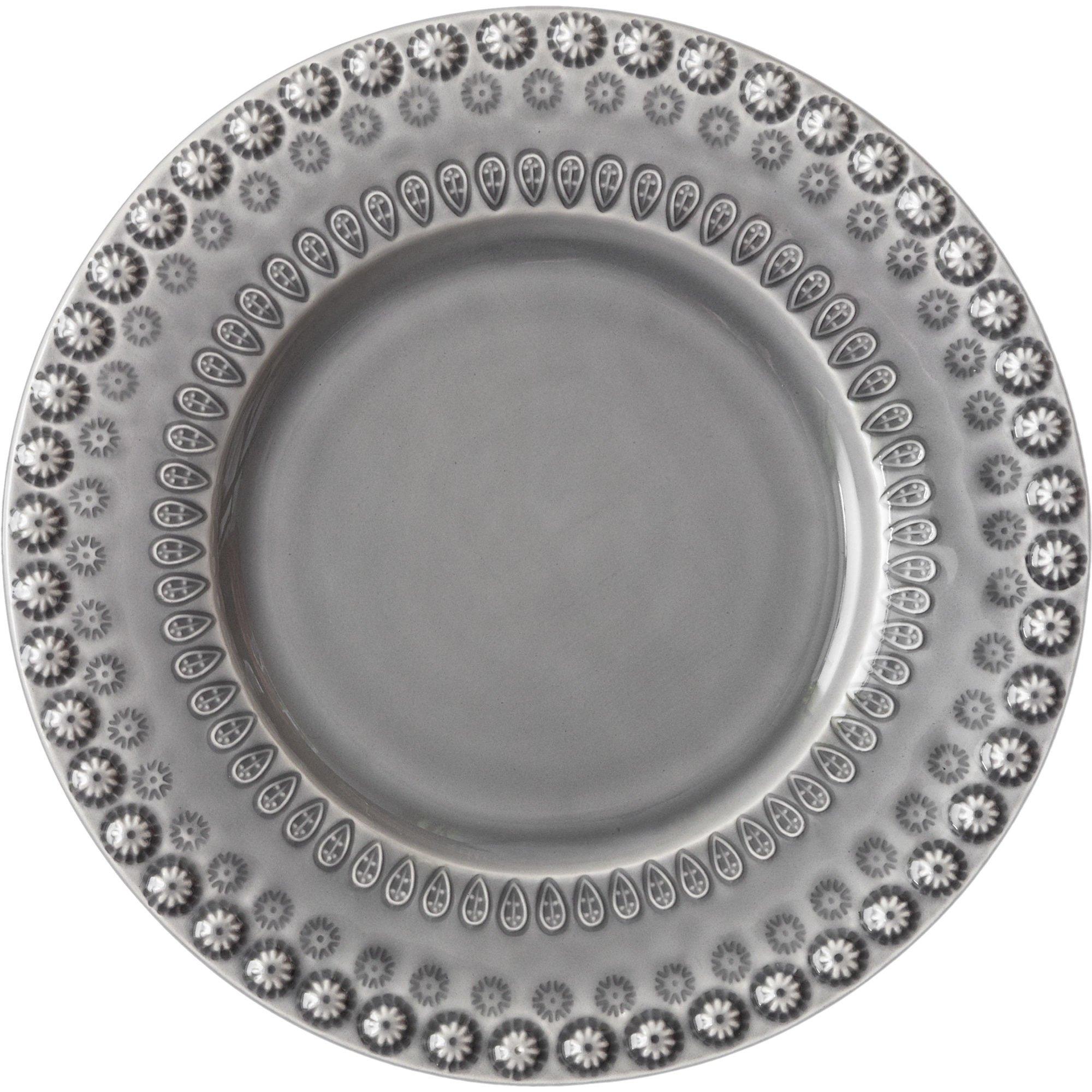 PotteryJo Daisy Salladstallrik 2 st Soft grey