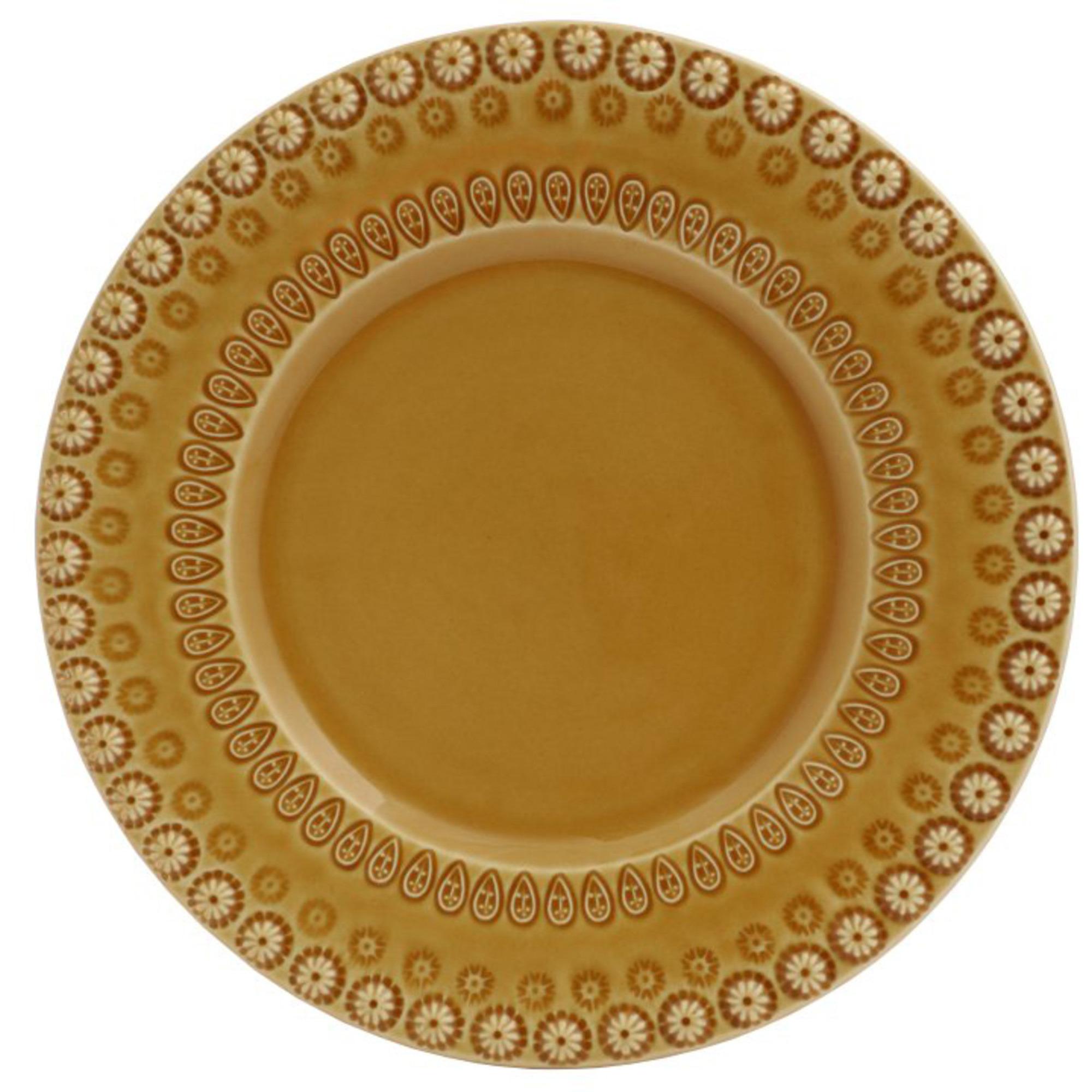 PotteryJo Daisy Assiett 22 cm Sienna