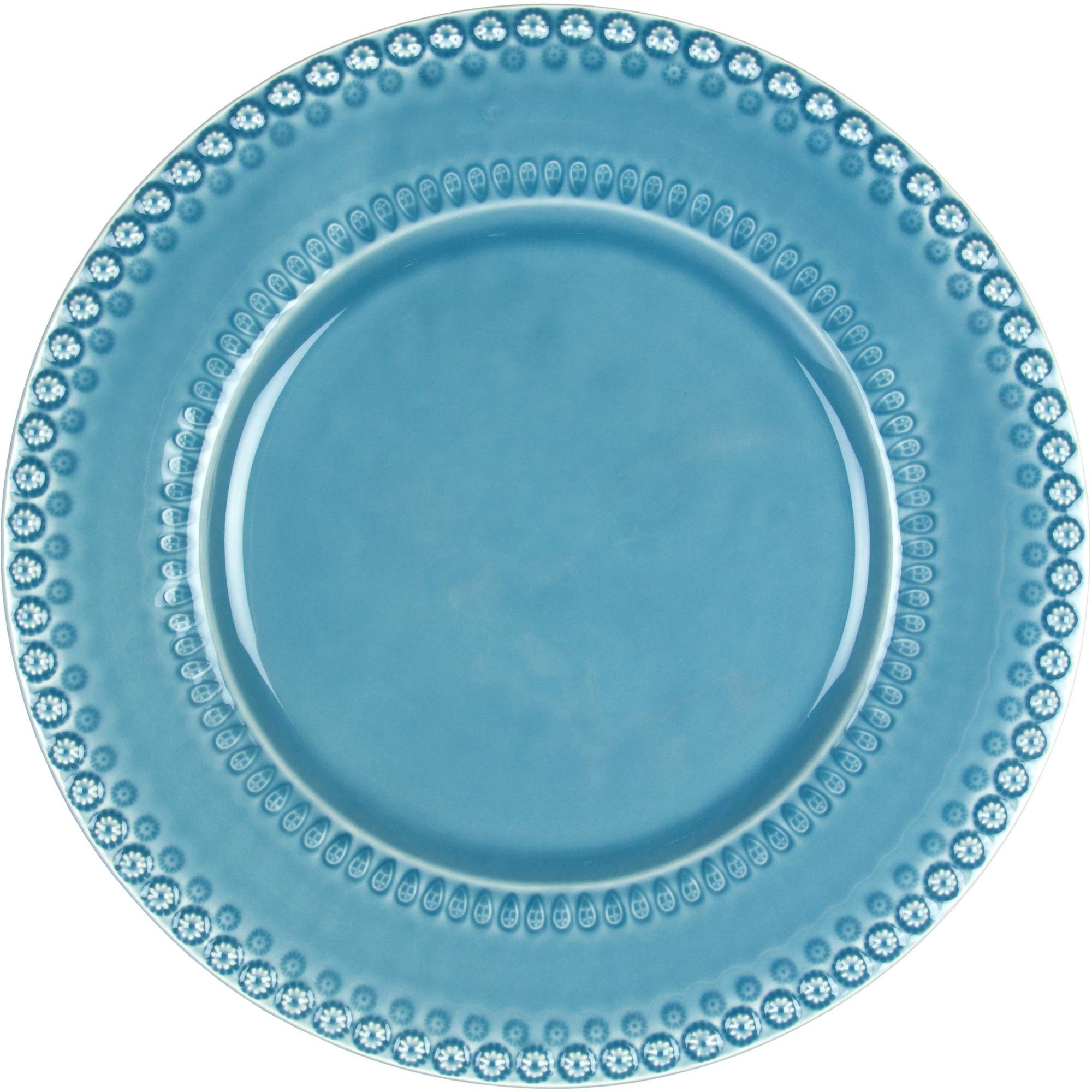 PotteryJo Daisy Underläggstallrik 35 cm Dusty Blue